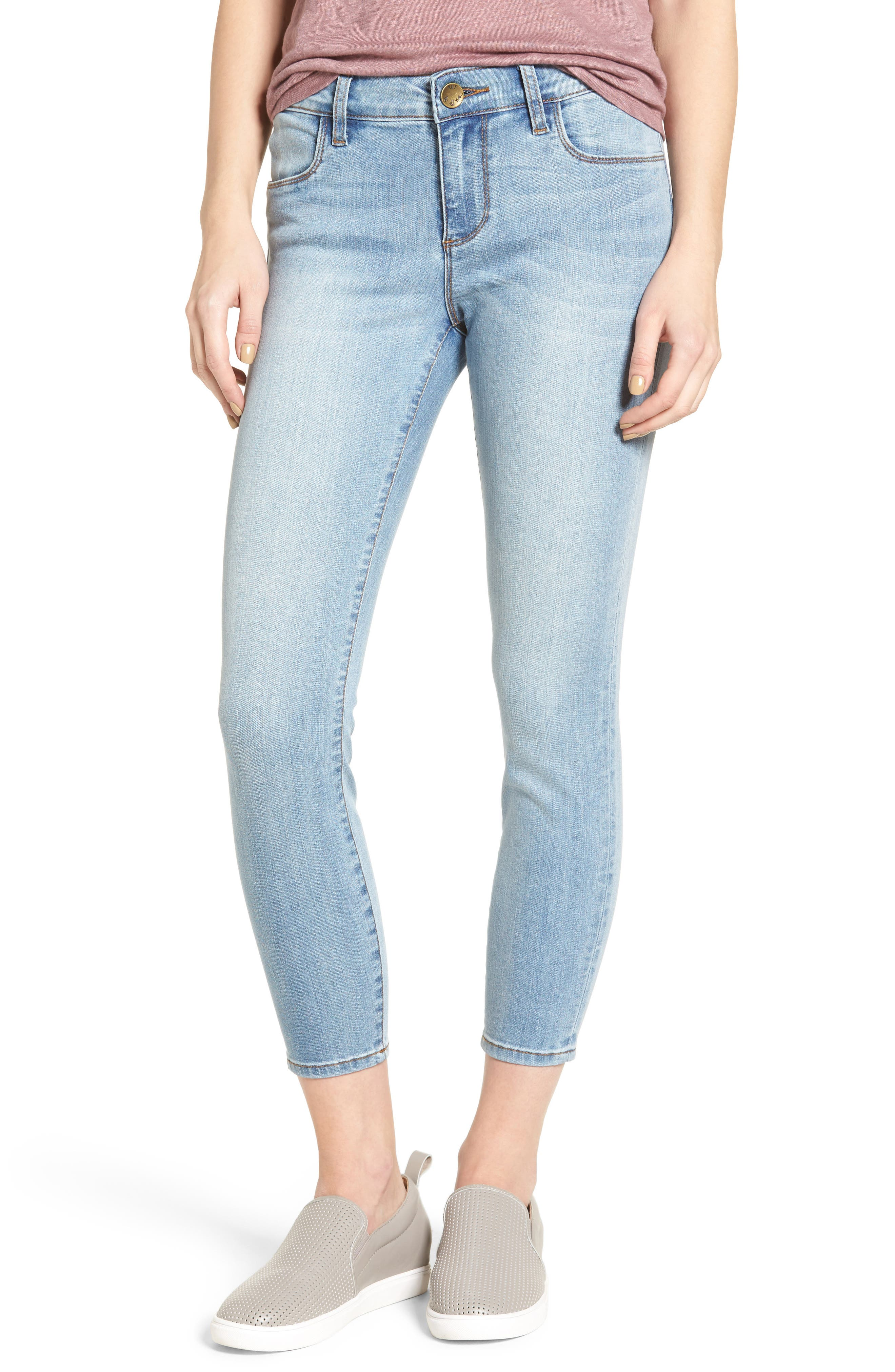 KUT from the Kloth Brigitte Stretch Crop Skinny Jeans (Favorable)