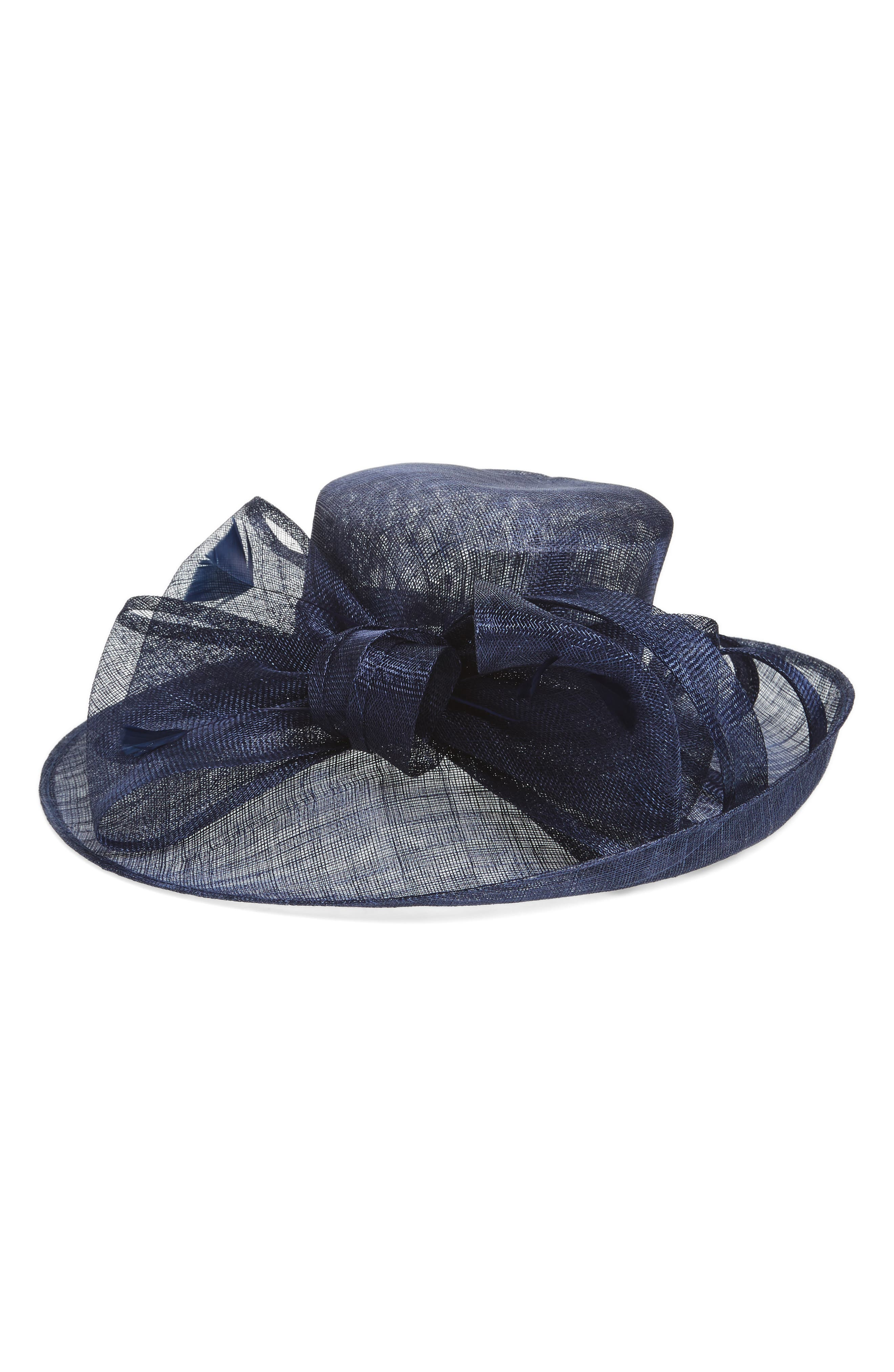 Alternate Image 1 Selected - Nordstrom Sinamay Bow Derby Hat