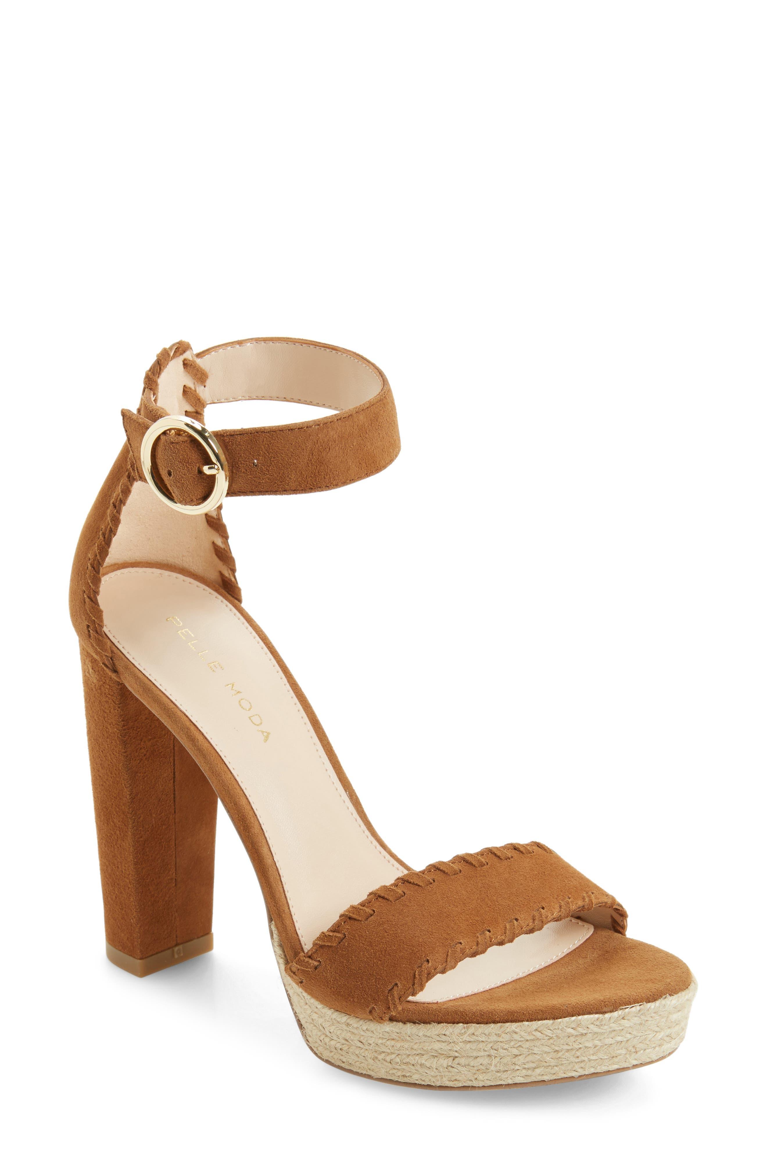 Pelle Moda Palo Ankle Strap Sandal (Women)
