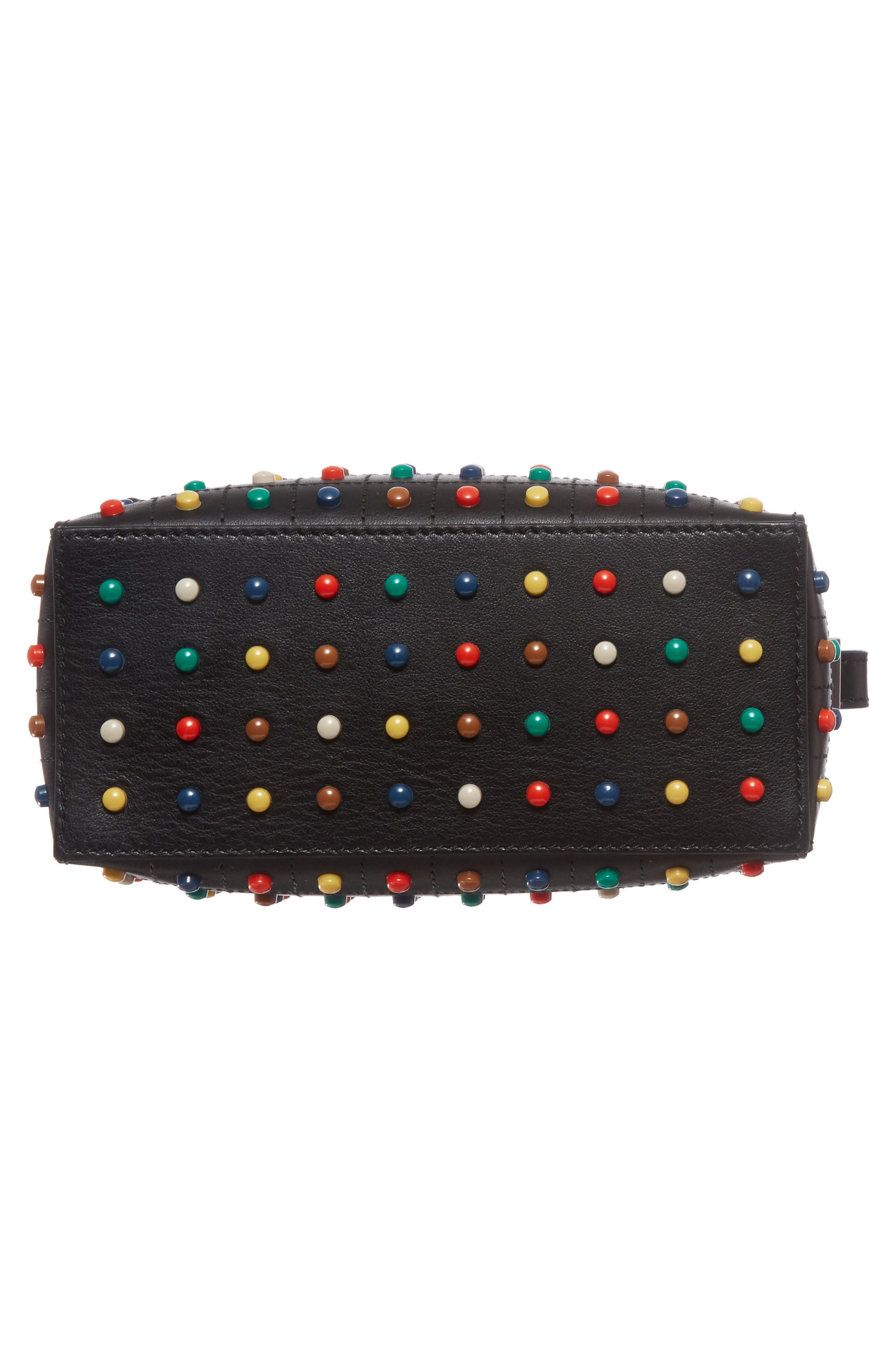 Alternate Image 6  - Tod's Micro Diodon Rainbow Studded Leather Bowler Bag