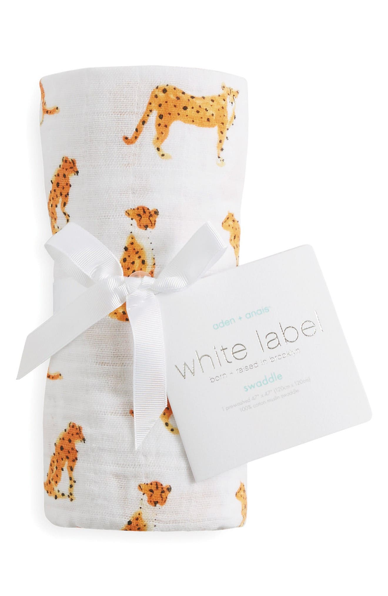 aden + anais White Label Classic Swaddling Cloth