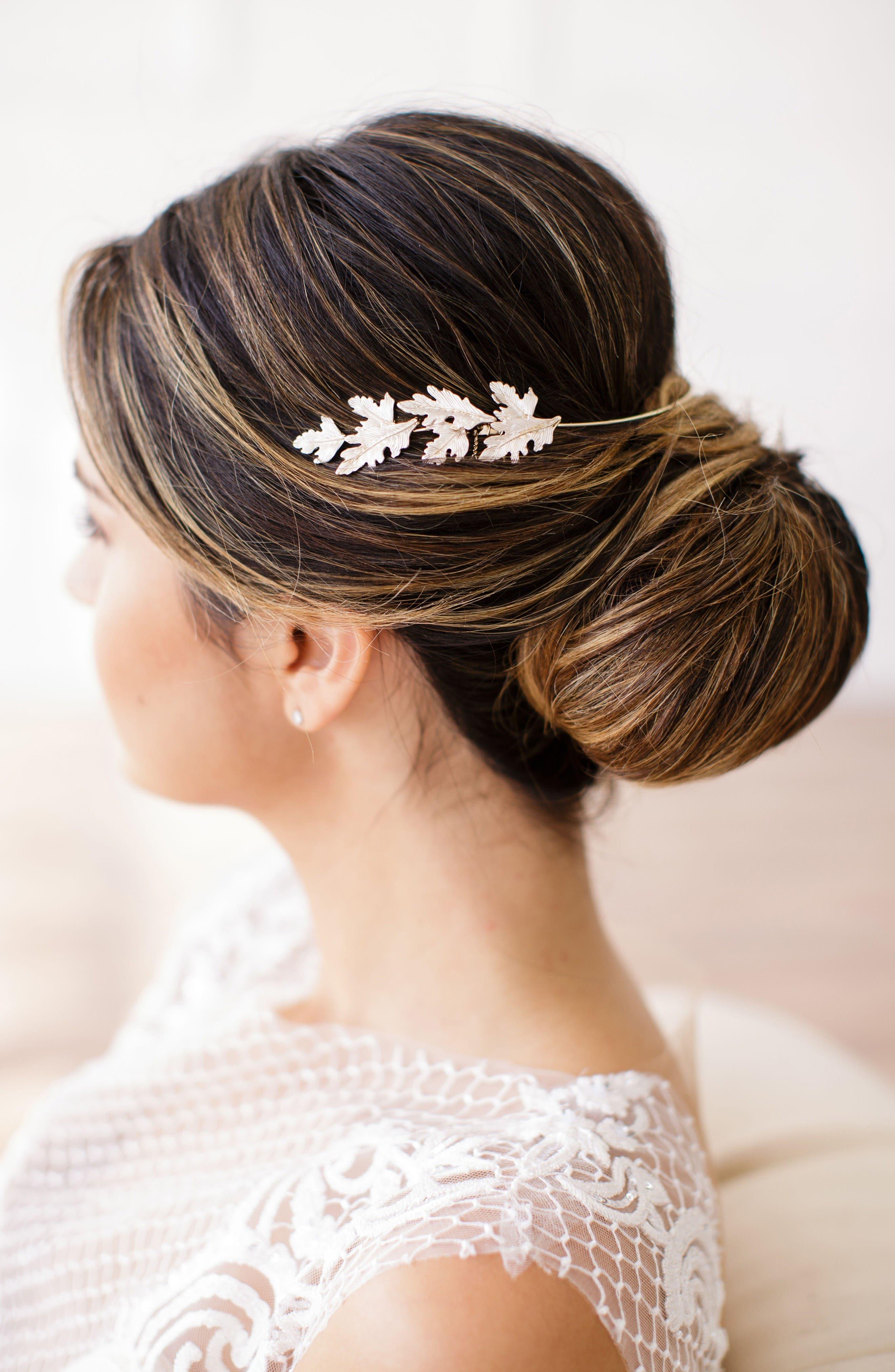 Brides & Hairpins Cinzia Leaf Halo