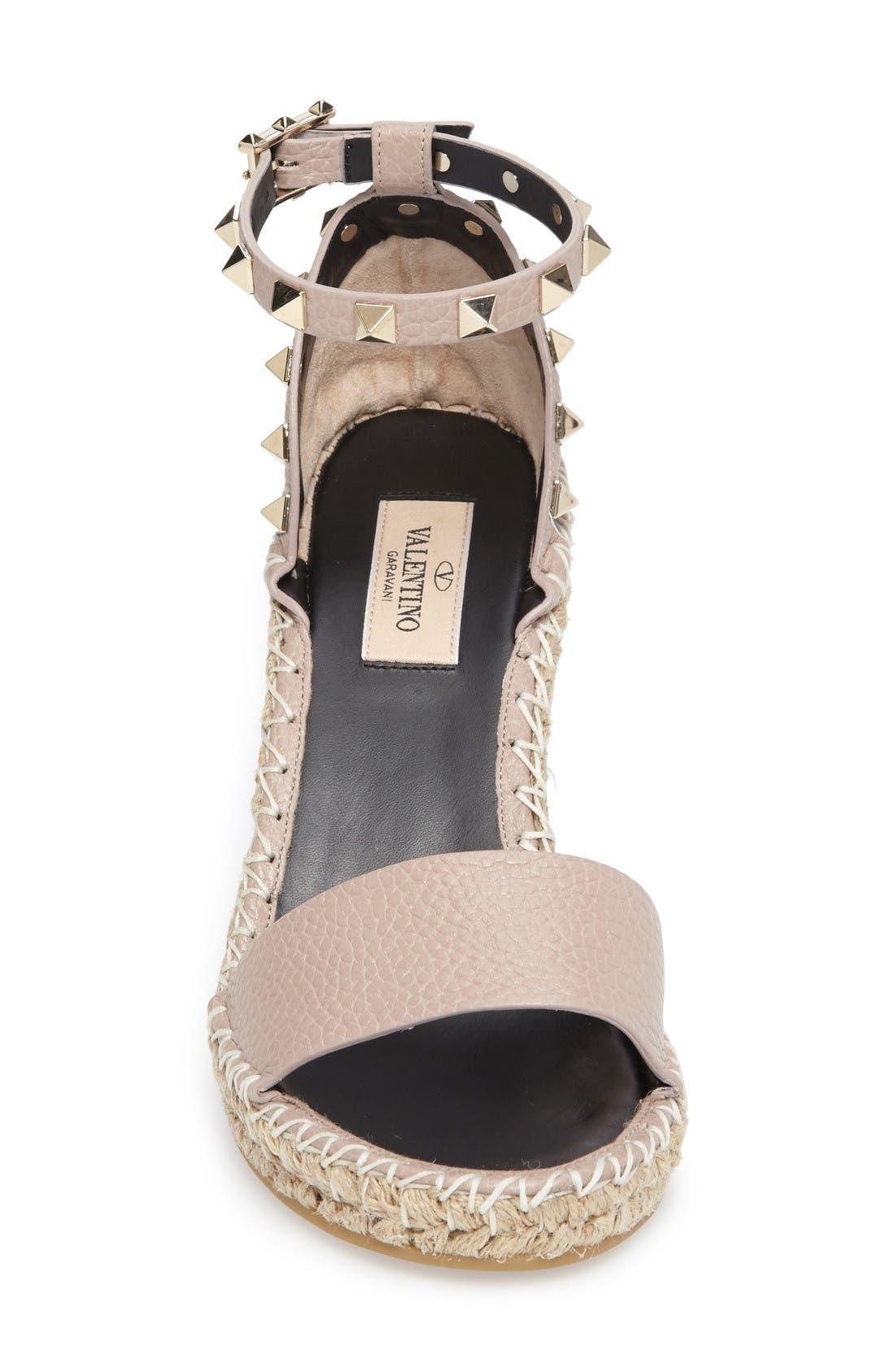 Alternate Image 3  - VALENTINO GARAVANI 'Rockstud' T-Strap Sandal (Women)