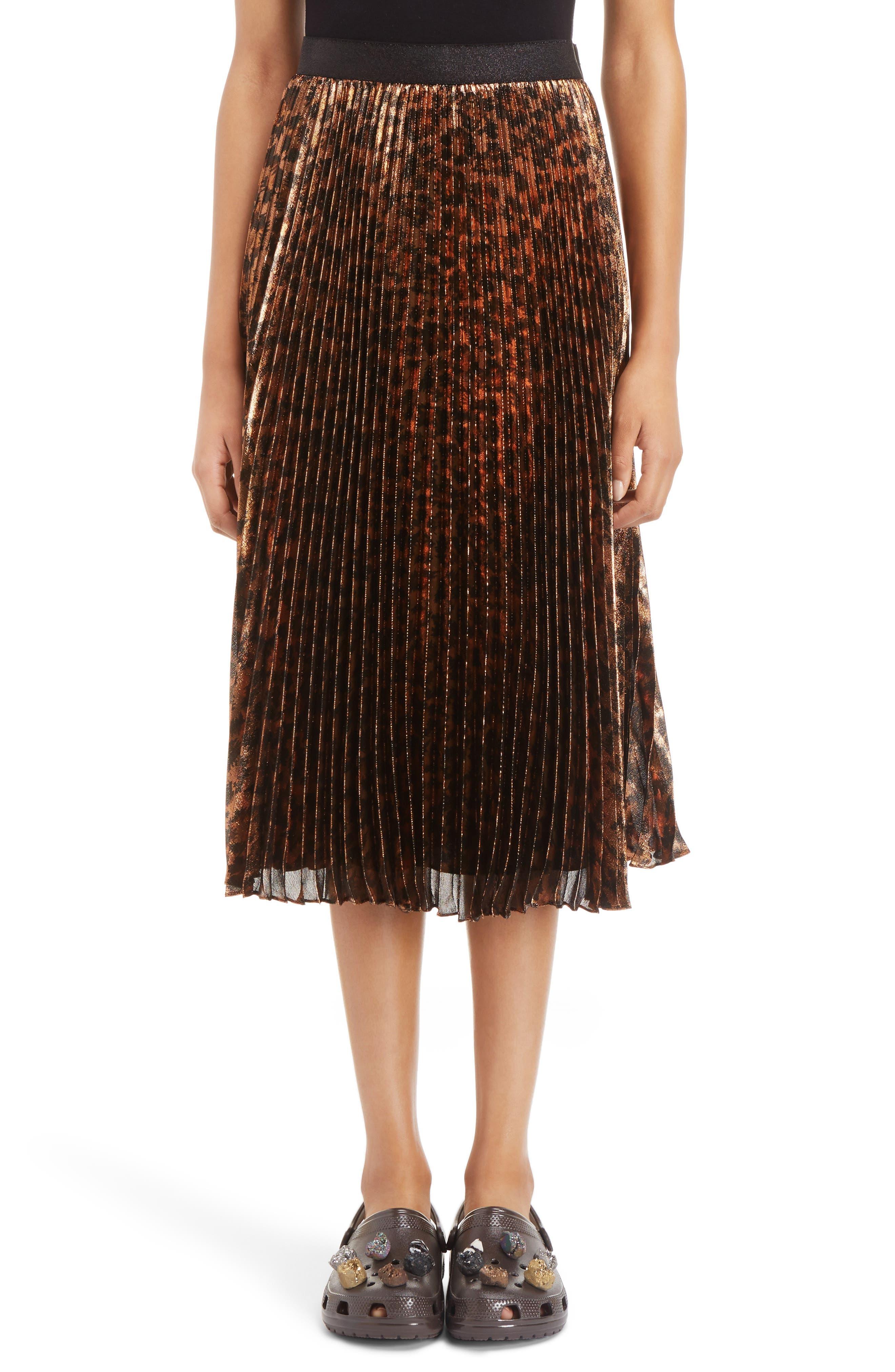Alternate Image 1 Selected - Christopher Kane Sunray Skirt