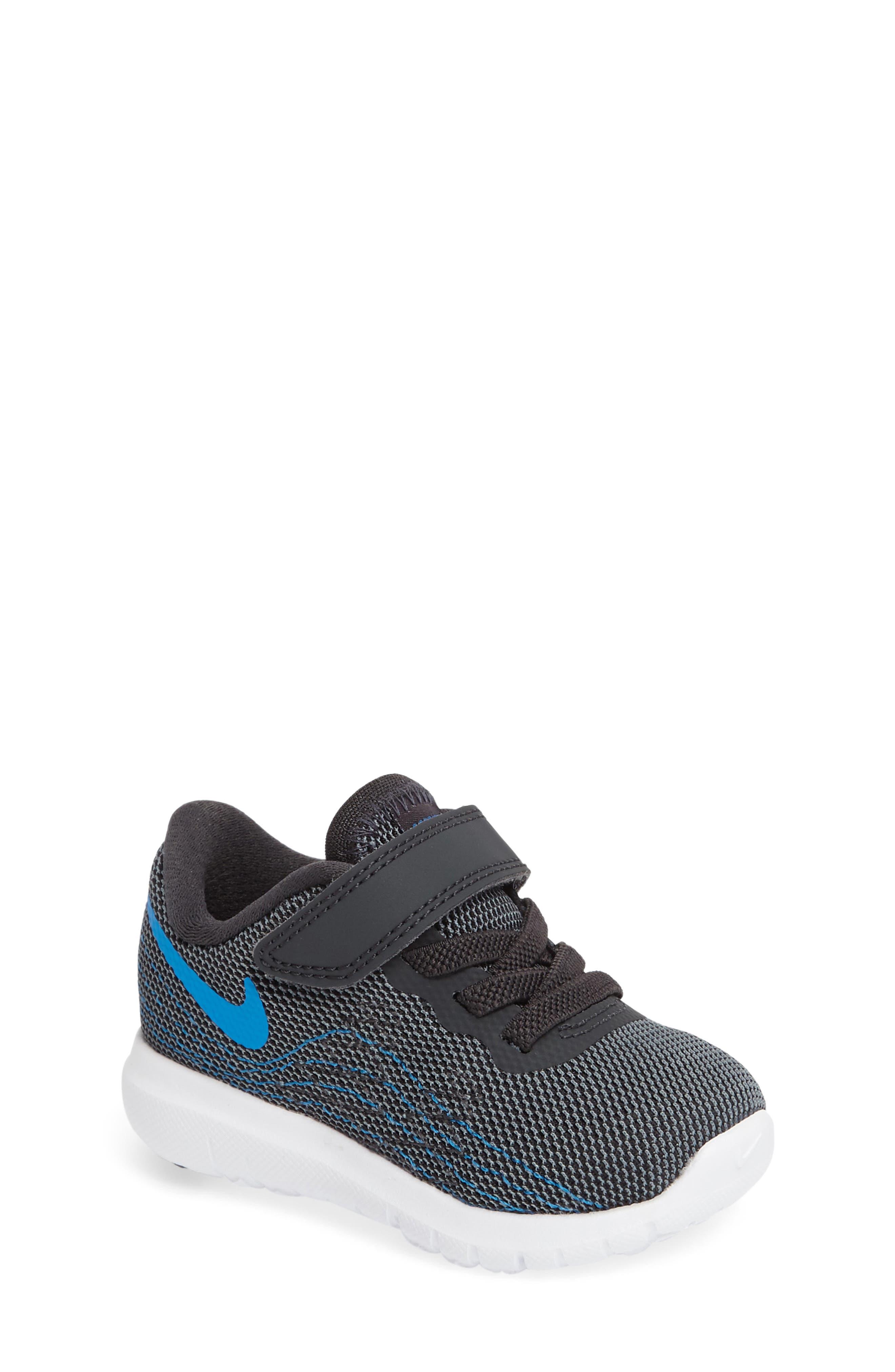 Nike 'Flex Fury 2' Athletic Shoe (Baby, Walker & Toddler)