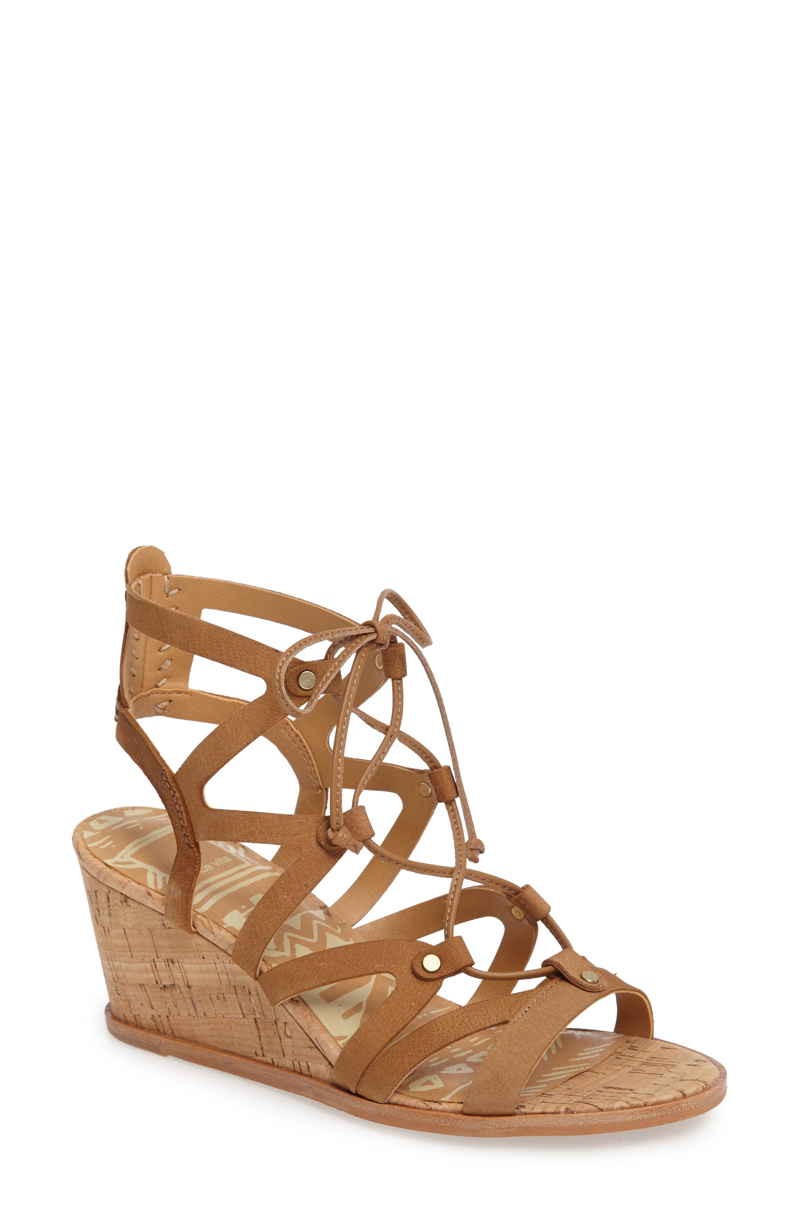 Alternate Image 1 Selected - Dolce Vita Lynnie Wedge Sandal (Women)