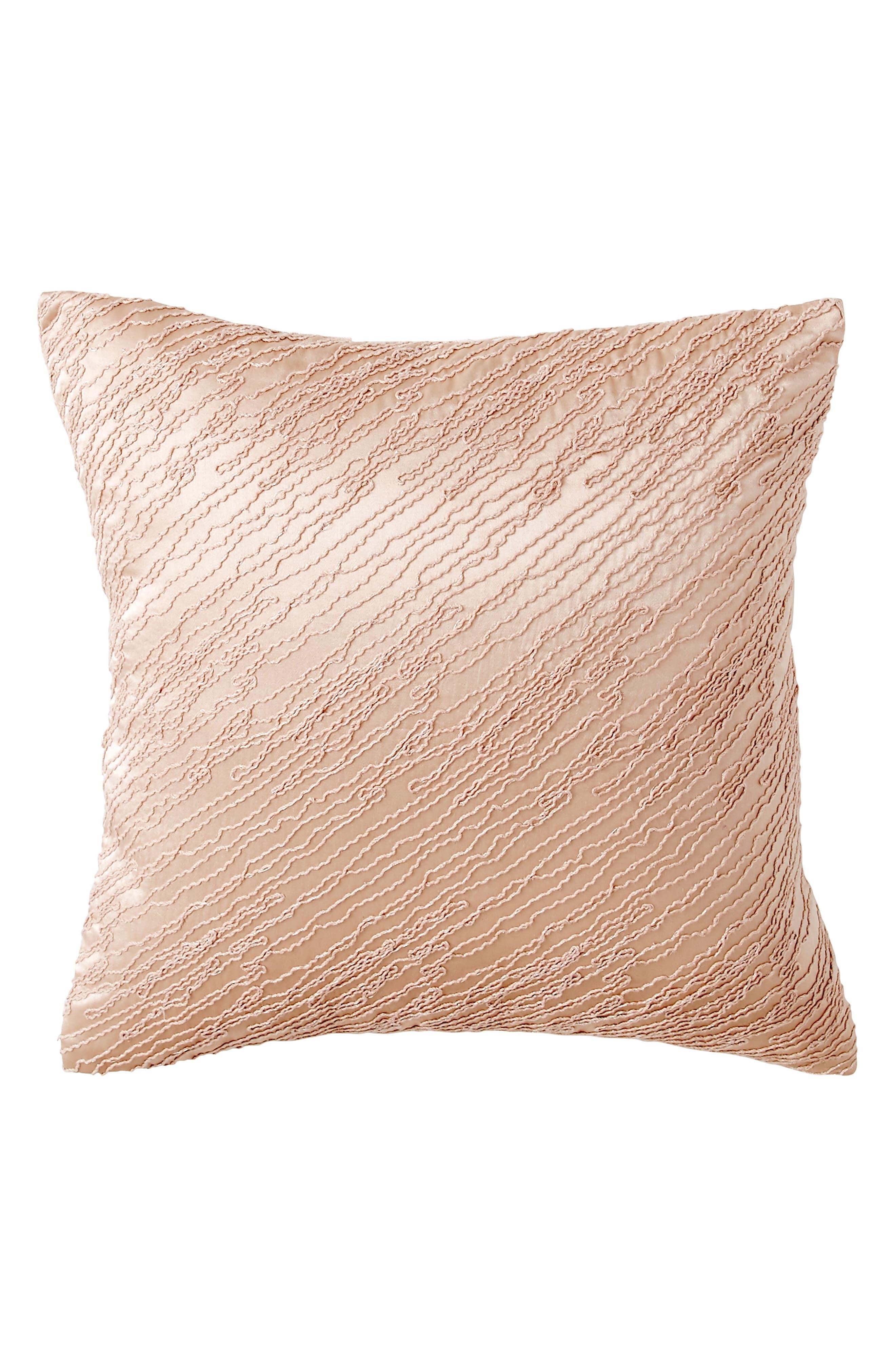 Donna Karan Home Collection Awakening Silk Accent Pillow