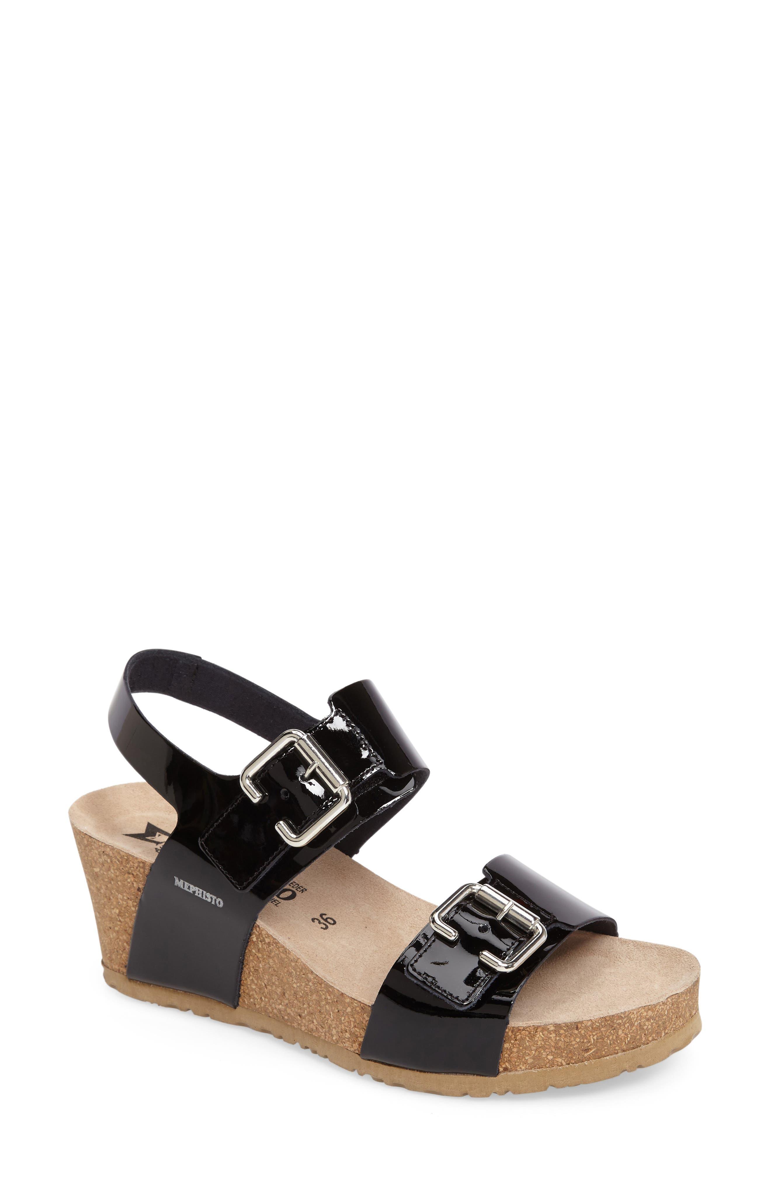 Mephisto Lissandra Platform Wedge Sandal (Women)