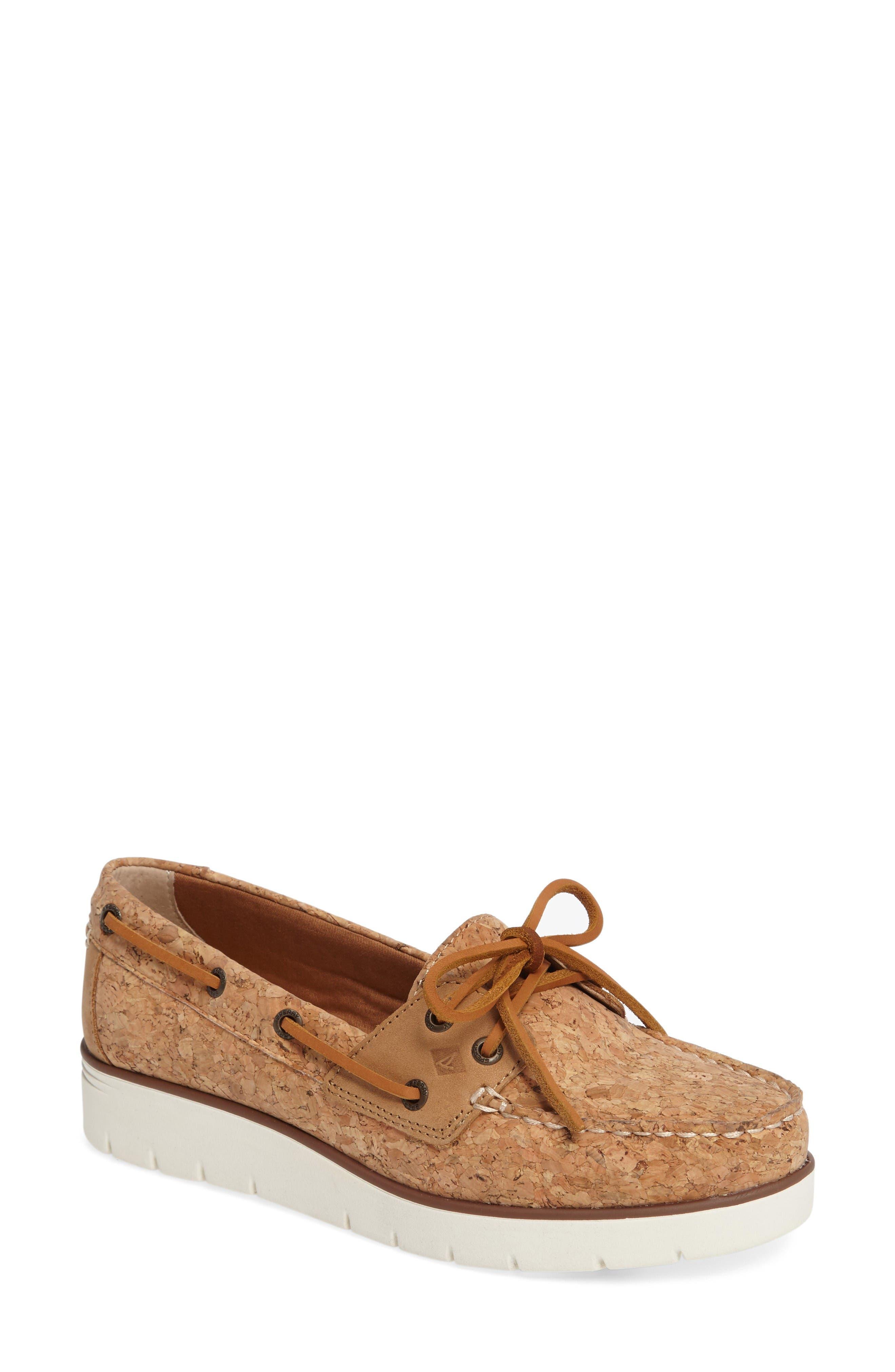 Sperry Azur Cora Wedge Boat Shoe (Women)