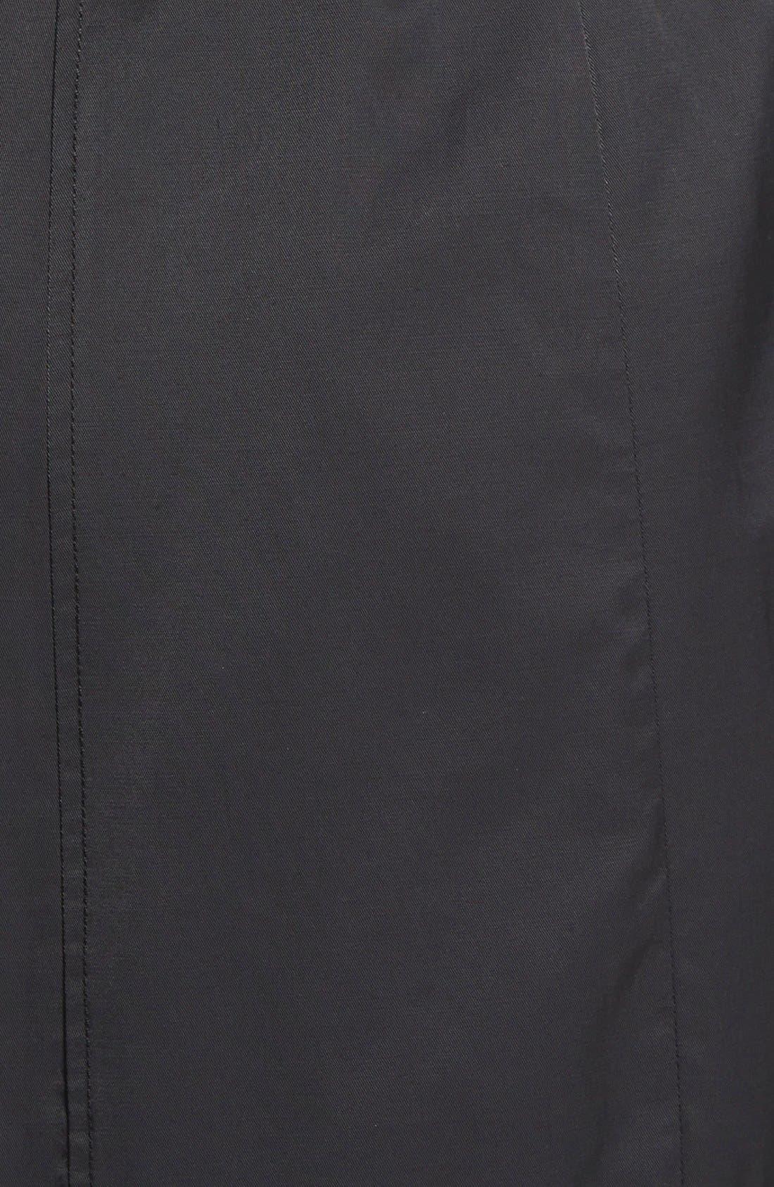 Alternate Image 3  - Ellen Tracey Relaxed Trench Coat (Regular & Petite)