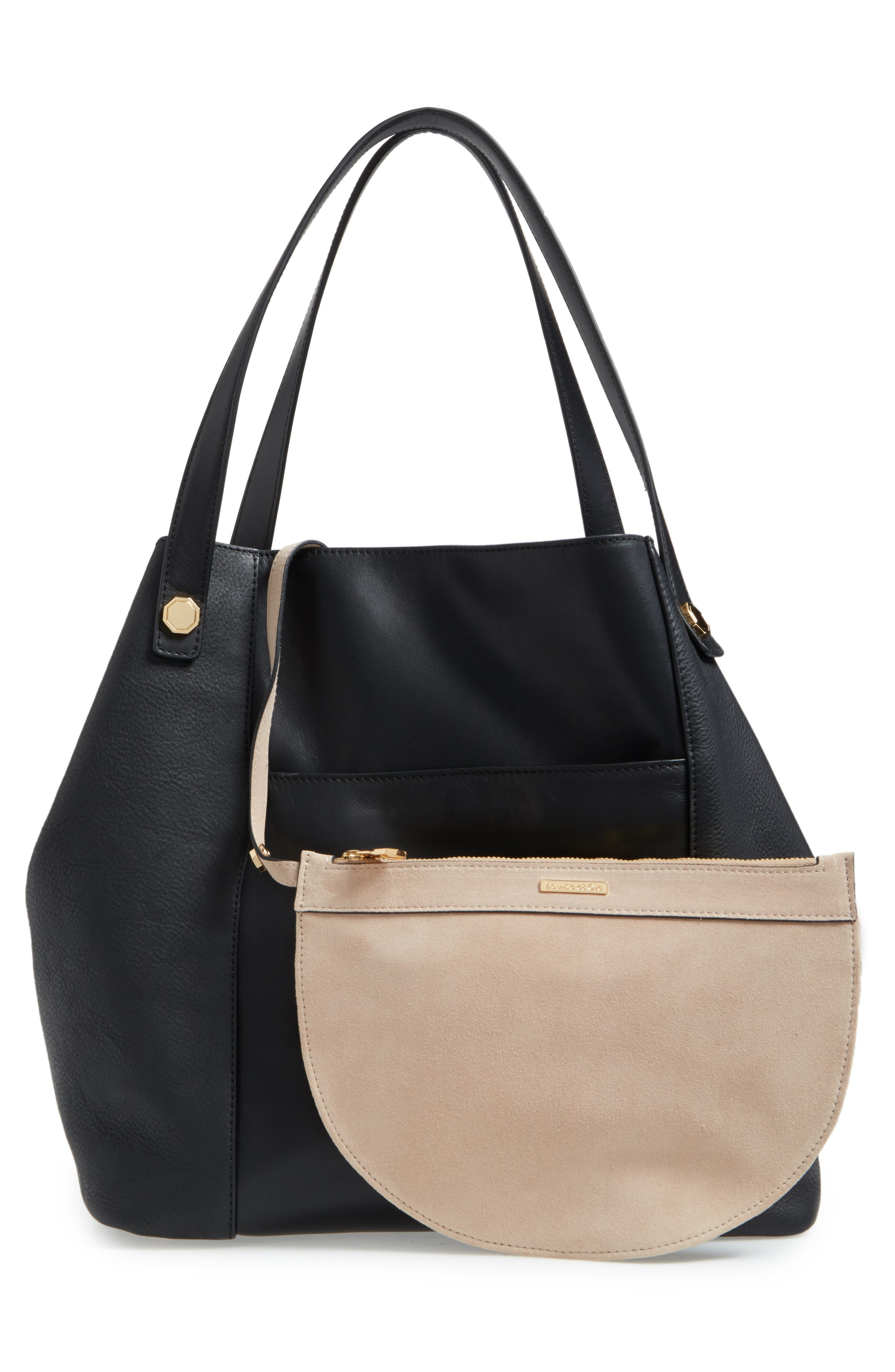 Alternate Image 3  - Louise et Cie Maree Leather Tote