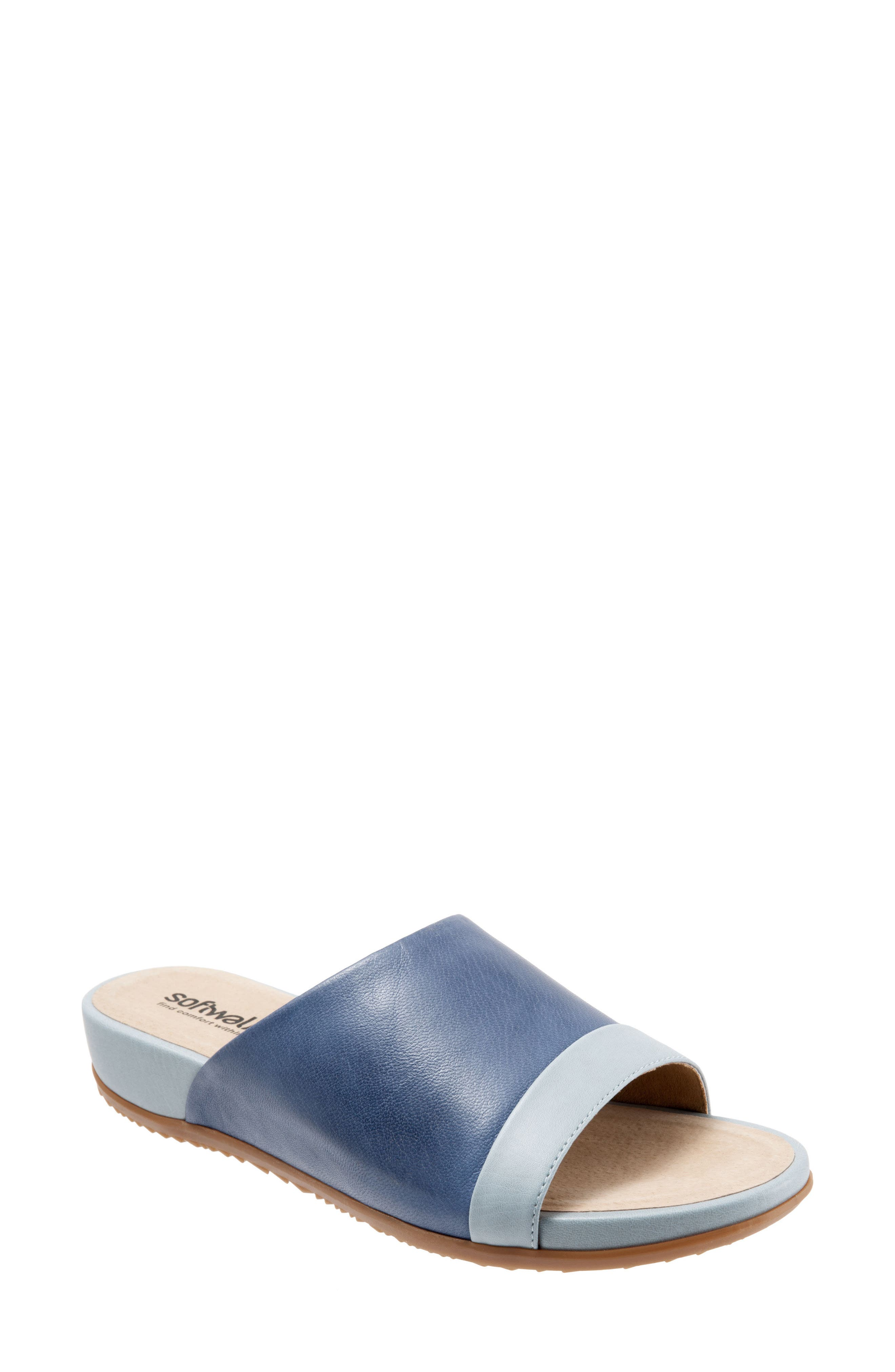 SoftWalk® Del Mar Slide Sandal (Women)