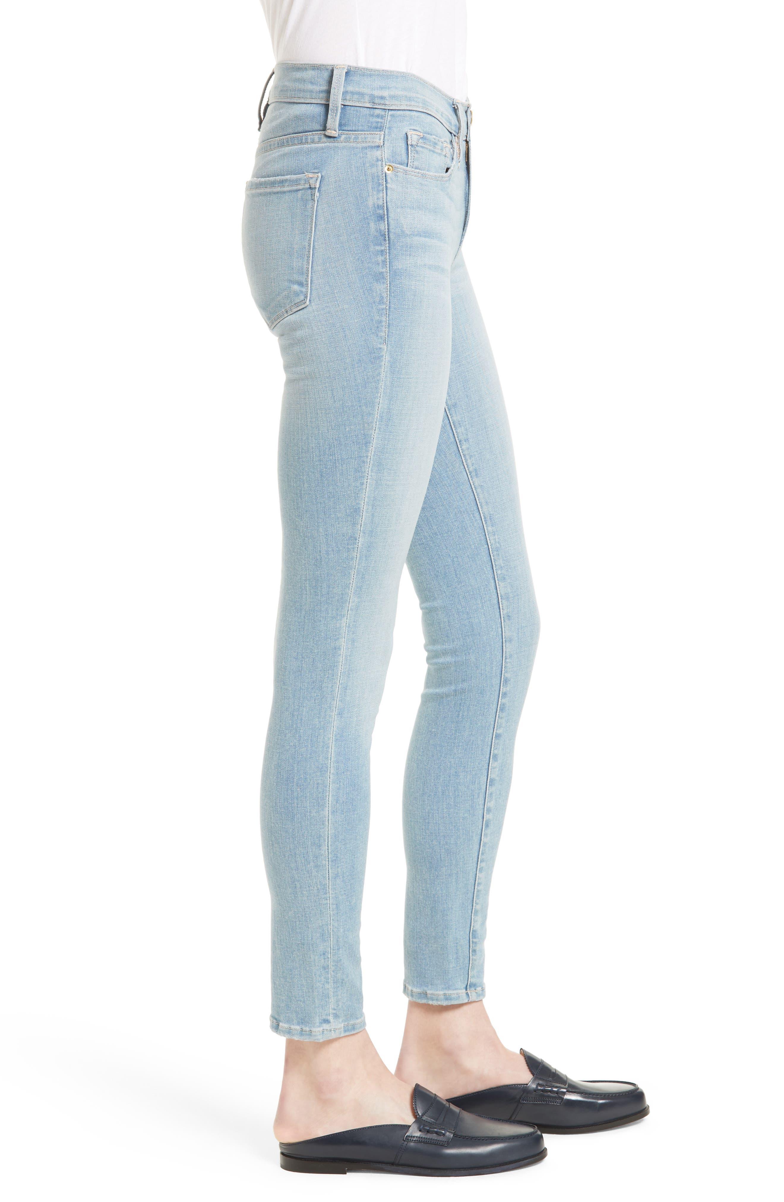 Alternate Image 3  - FRAME 'Le Skinny de Jeanne' Jeans (Antibes)