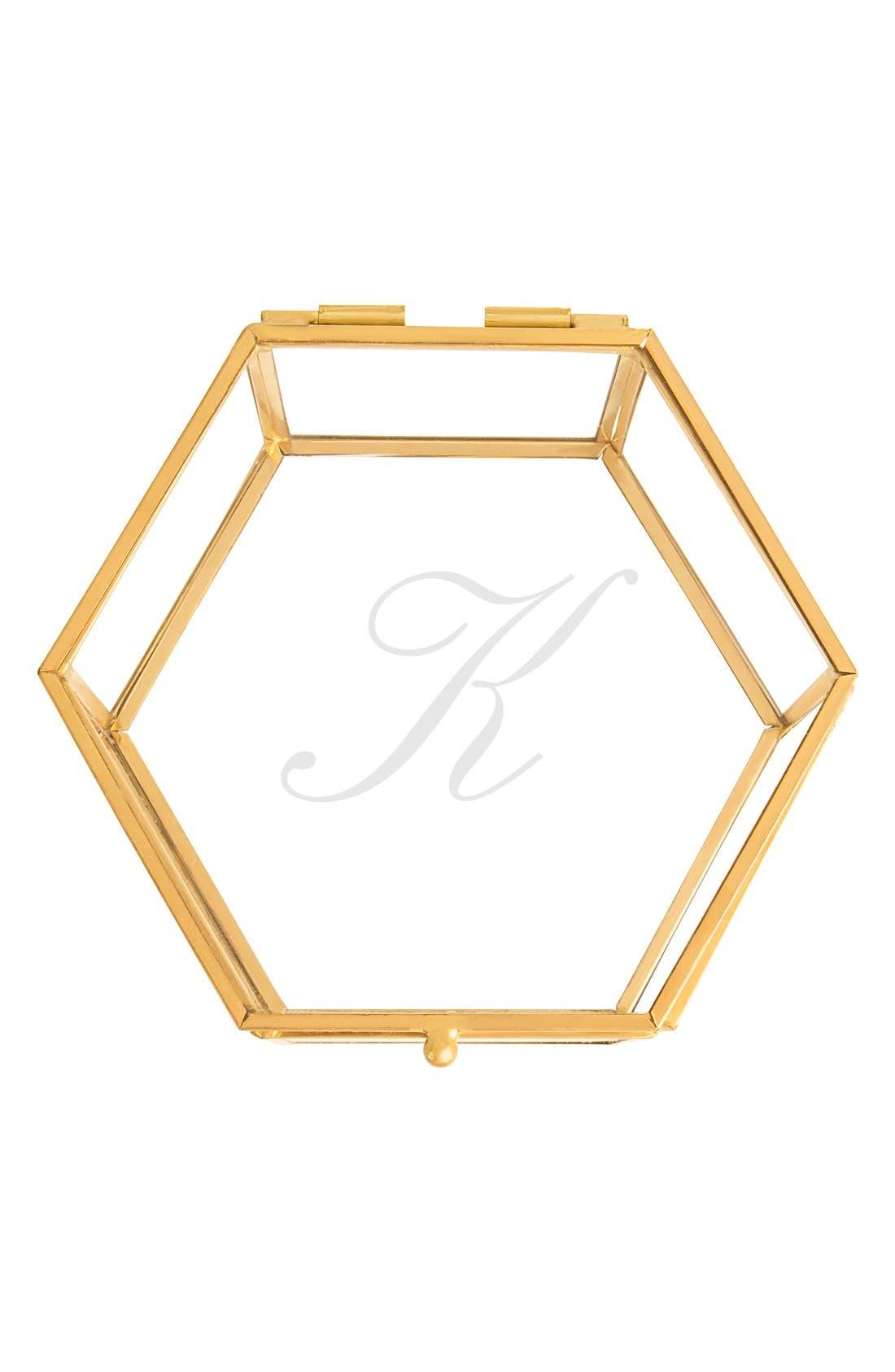 Cathy's Concepts Monogram Keepsake Box