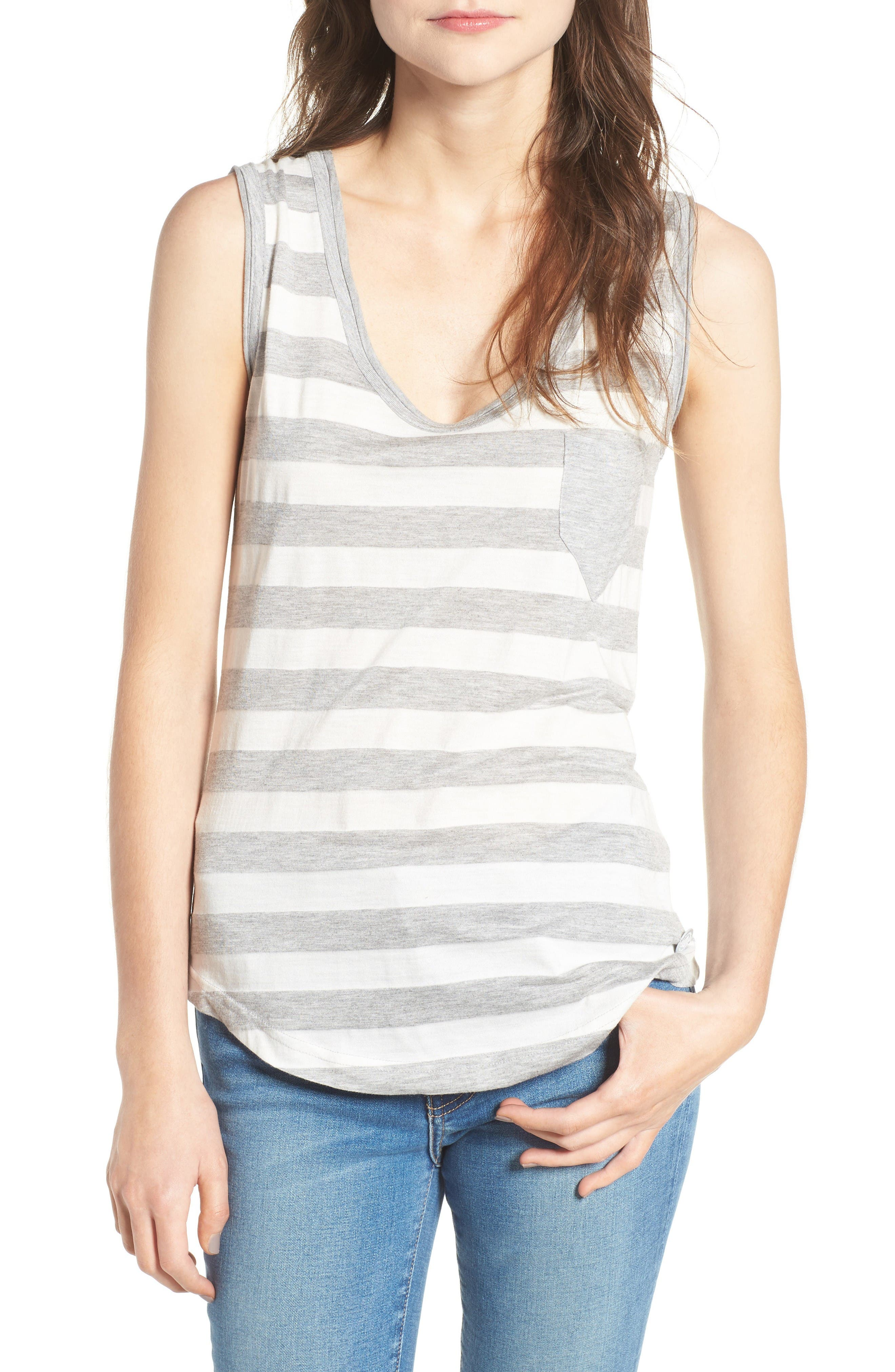 Alternate Image 1 Selected - Barbour Trytone Jersey Tank