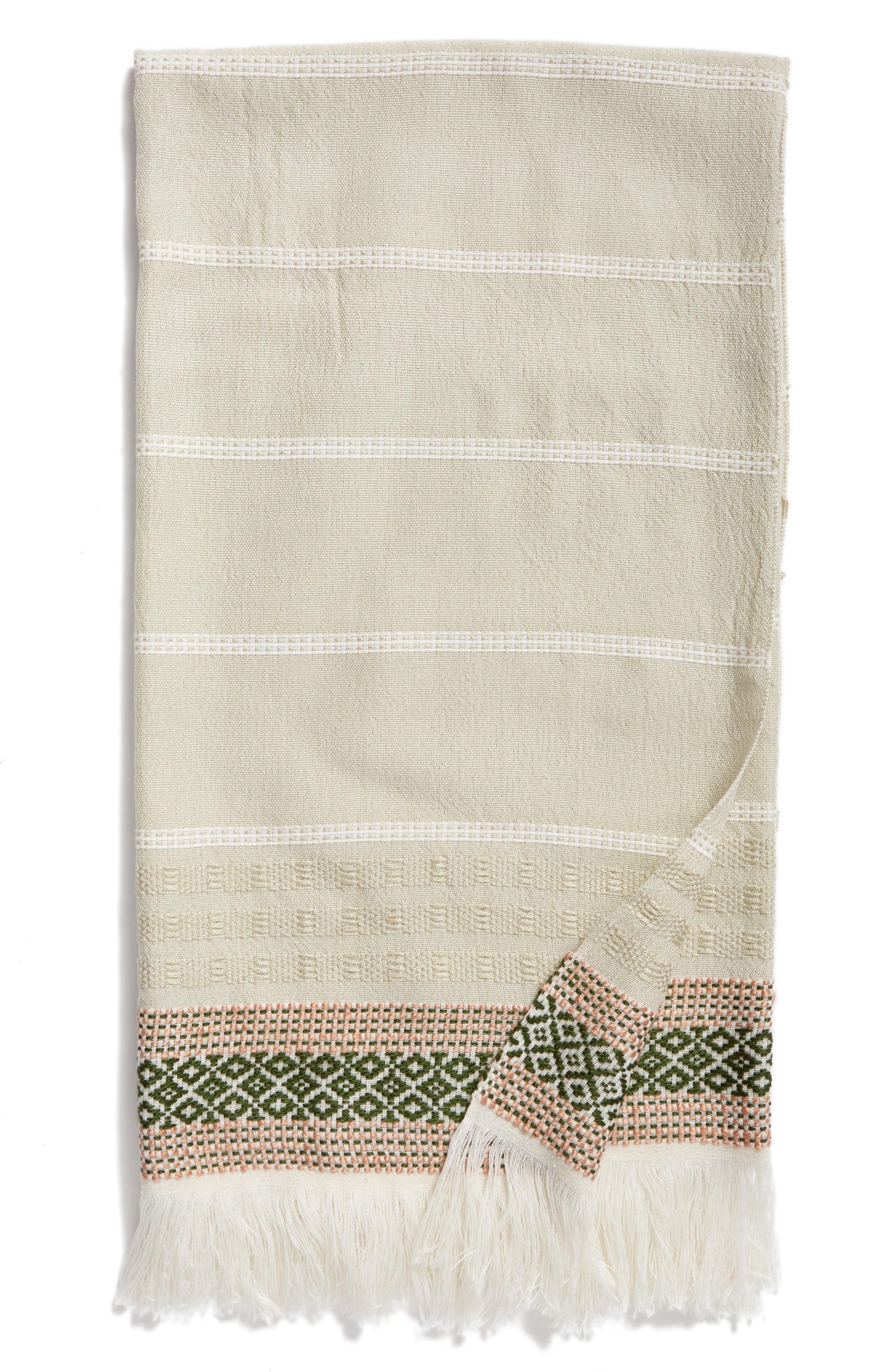 Nordstrom at Home Stripe Throw Blanket