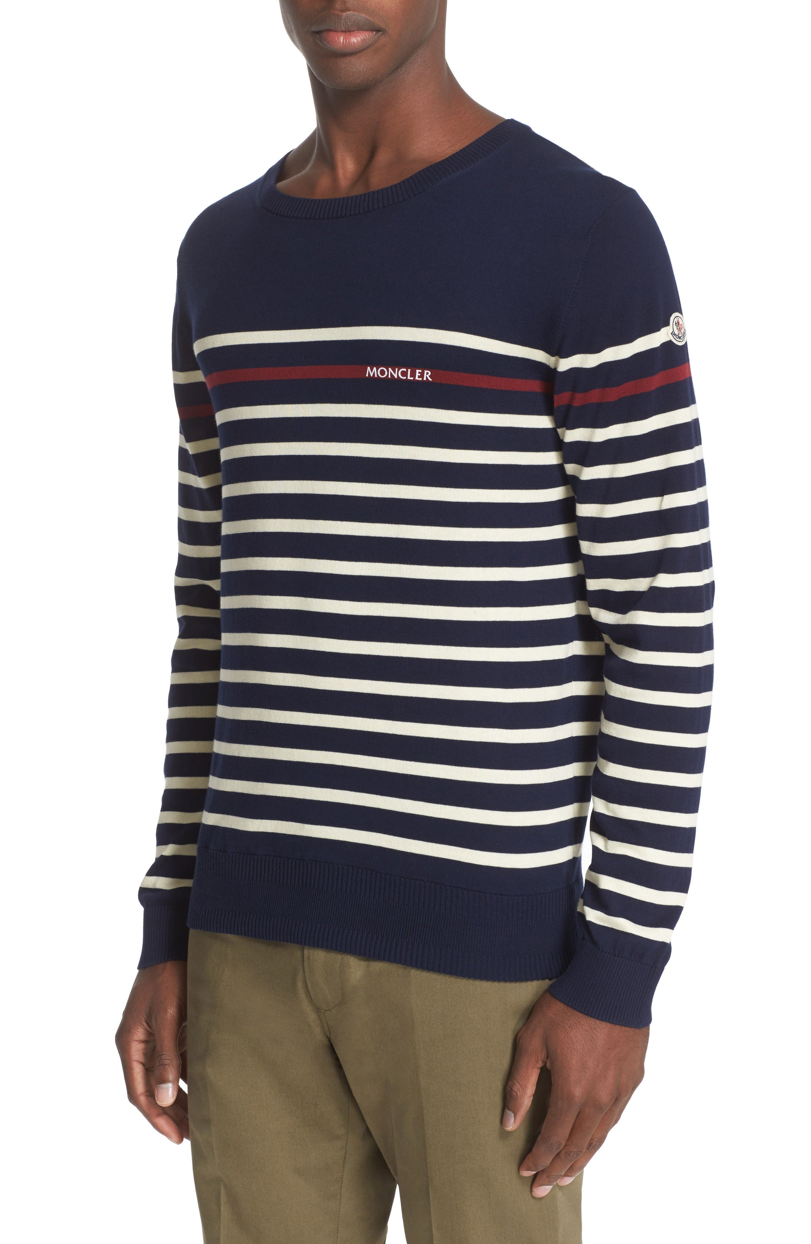 Moncler Stripe Cotton Sweater
