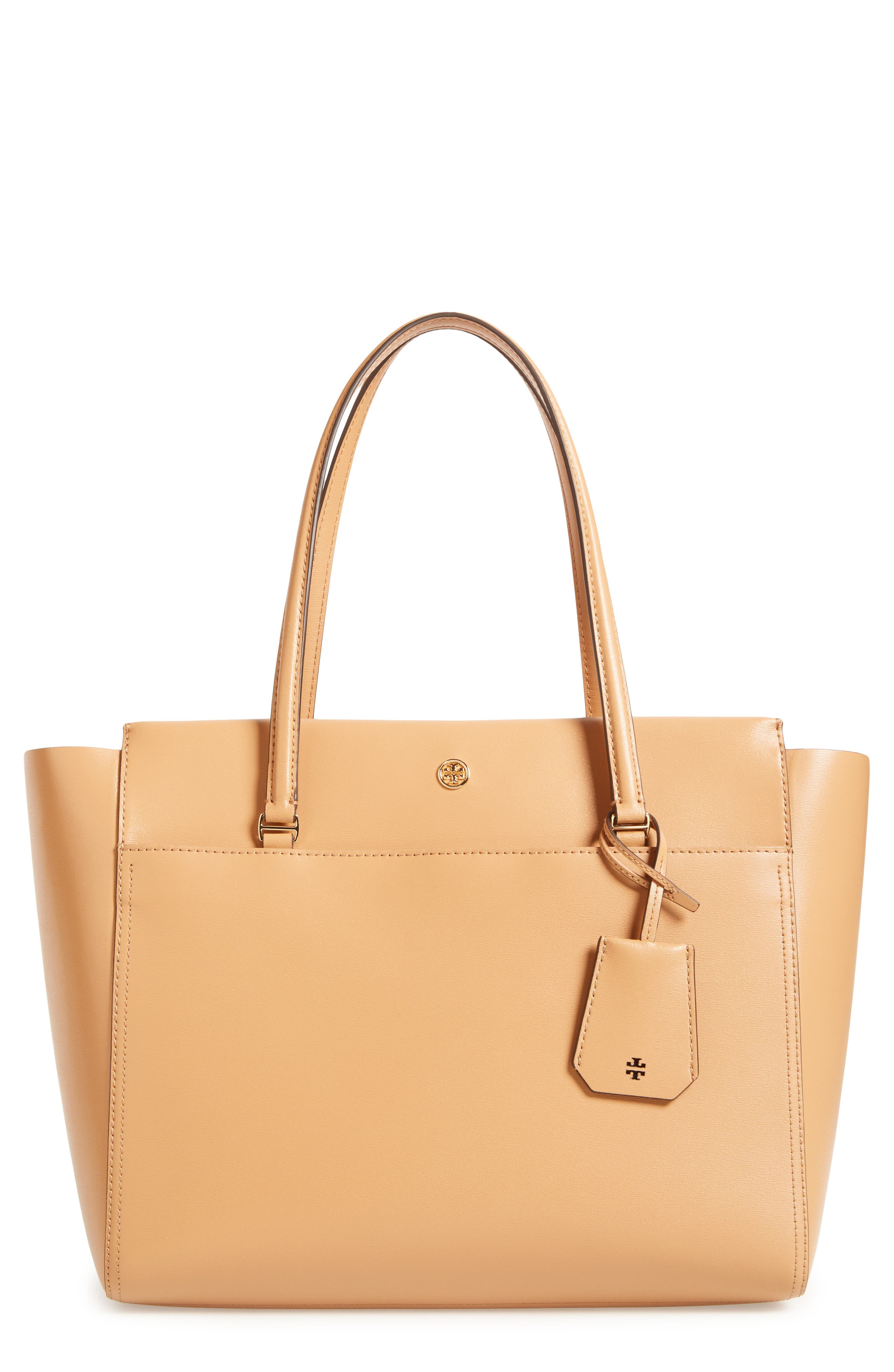Alternate Image 1 Selected - Tory Burch Parker Leather Tote