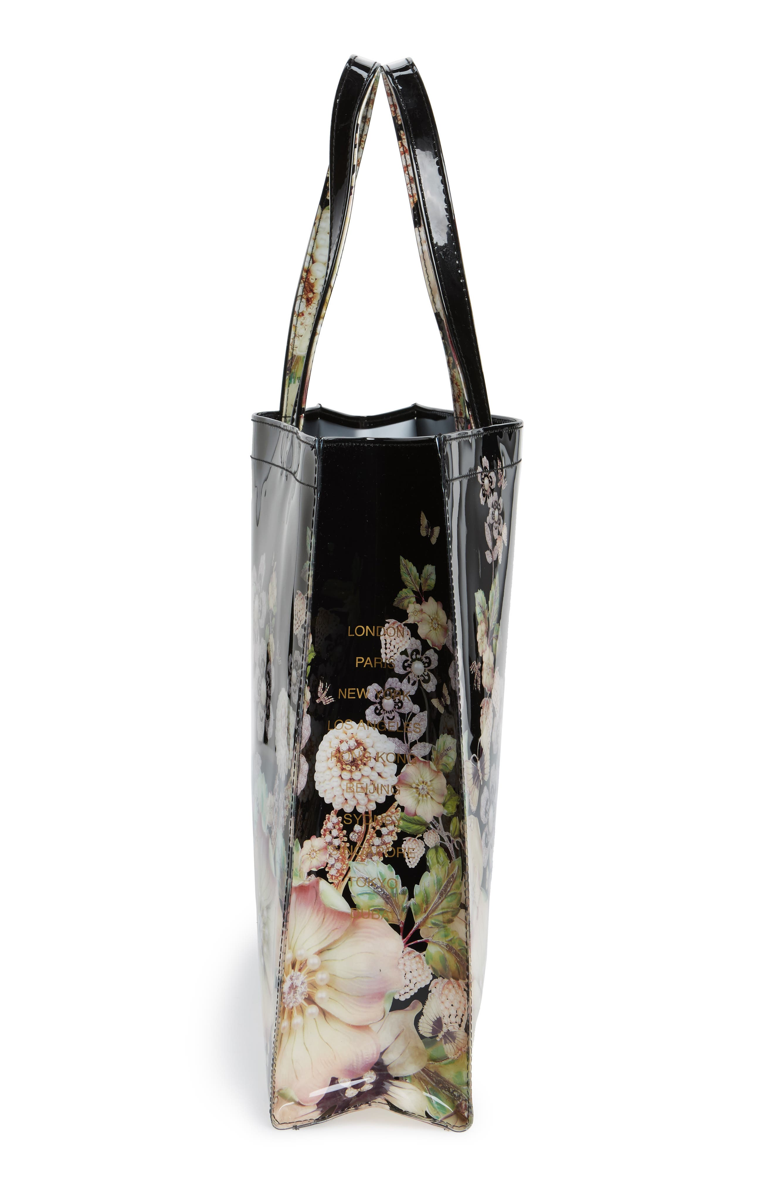 Alternate Image 3  - Ted Baker London Gem Gardens Large Icon Tote