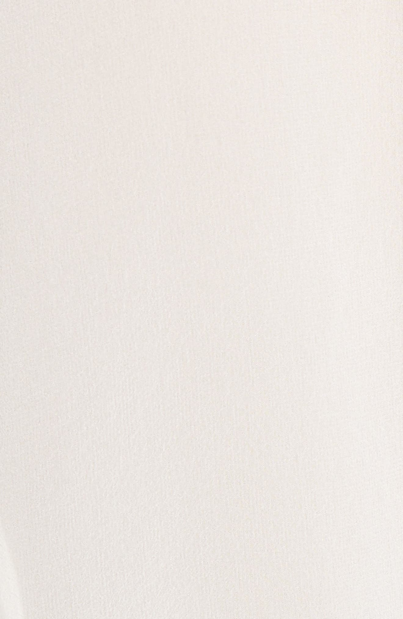 Alternate Image 5  - Robert Rodriguez Ruffle Silk Cold Shoulder Blouse