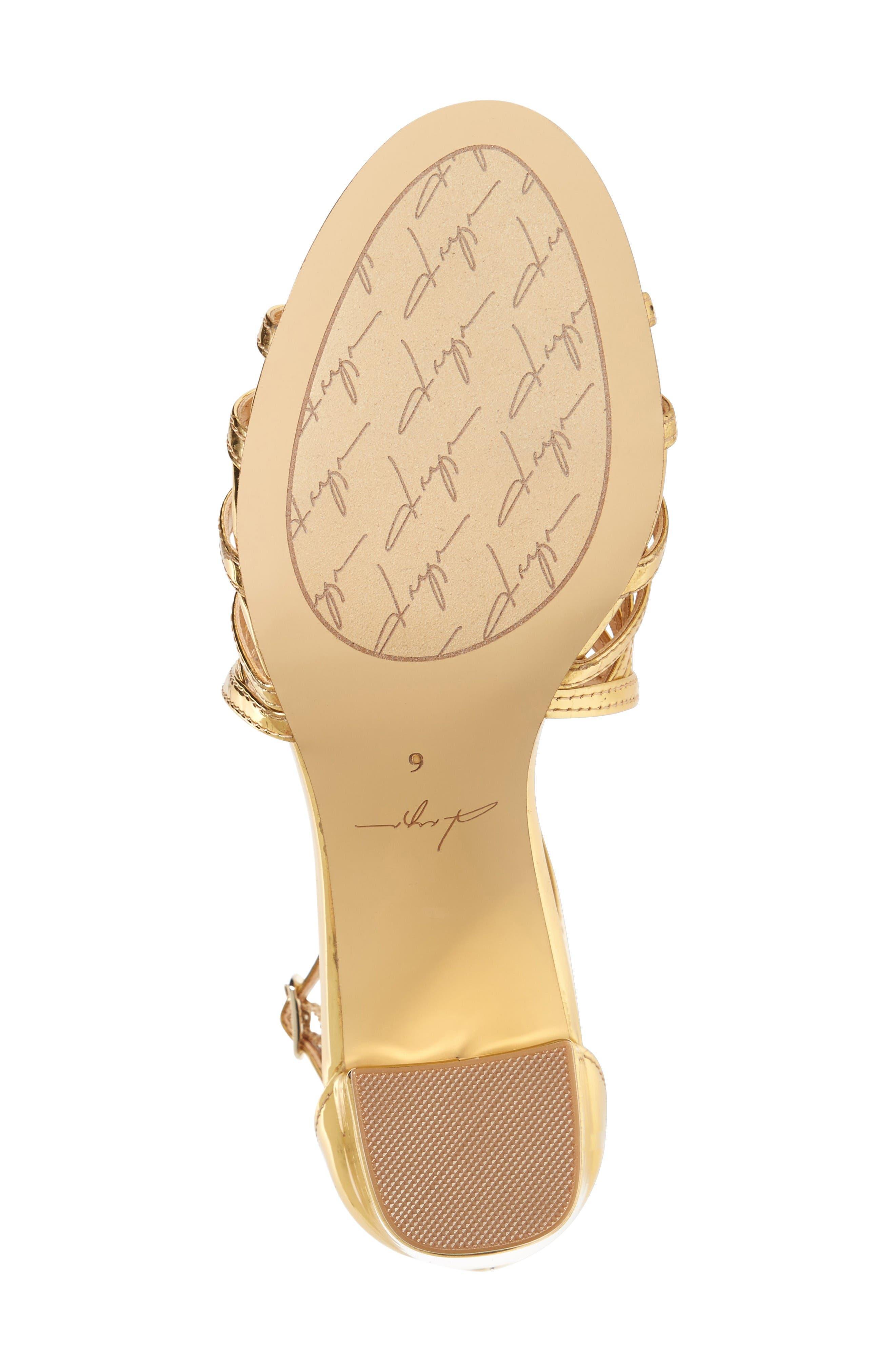 Alternate Image 4  - Daya by Zendaya Soda Block Heel Sandal (Women)