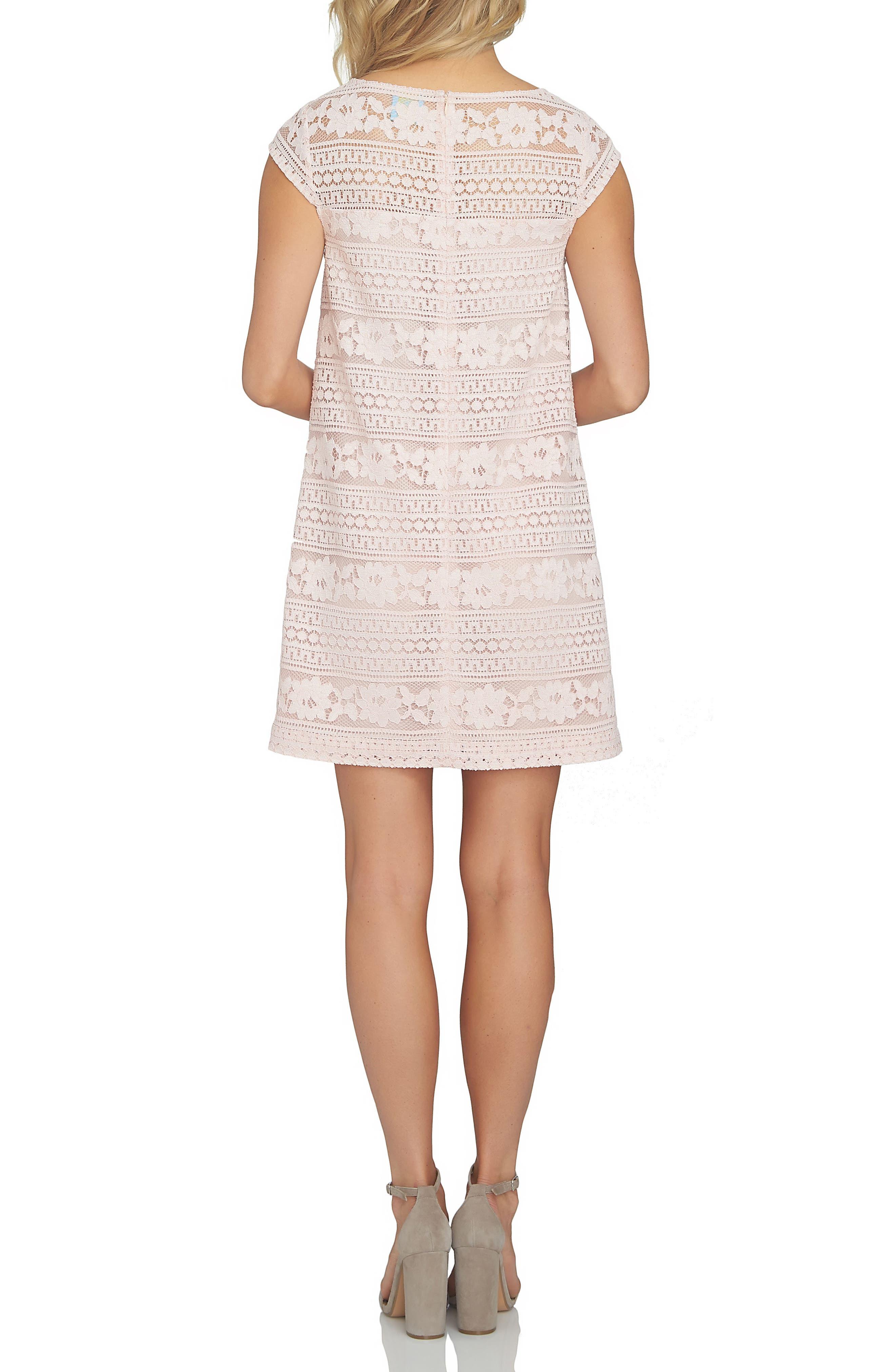 Alternate Image 2  - Cece Quinn Lace Shift Dress
