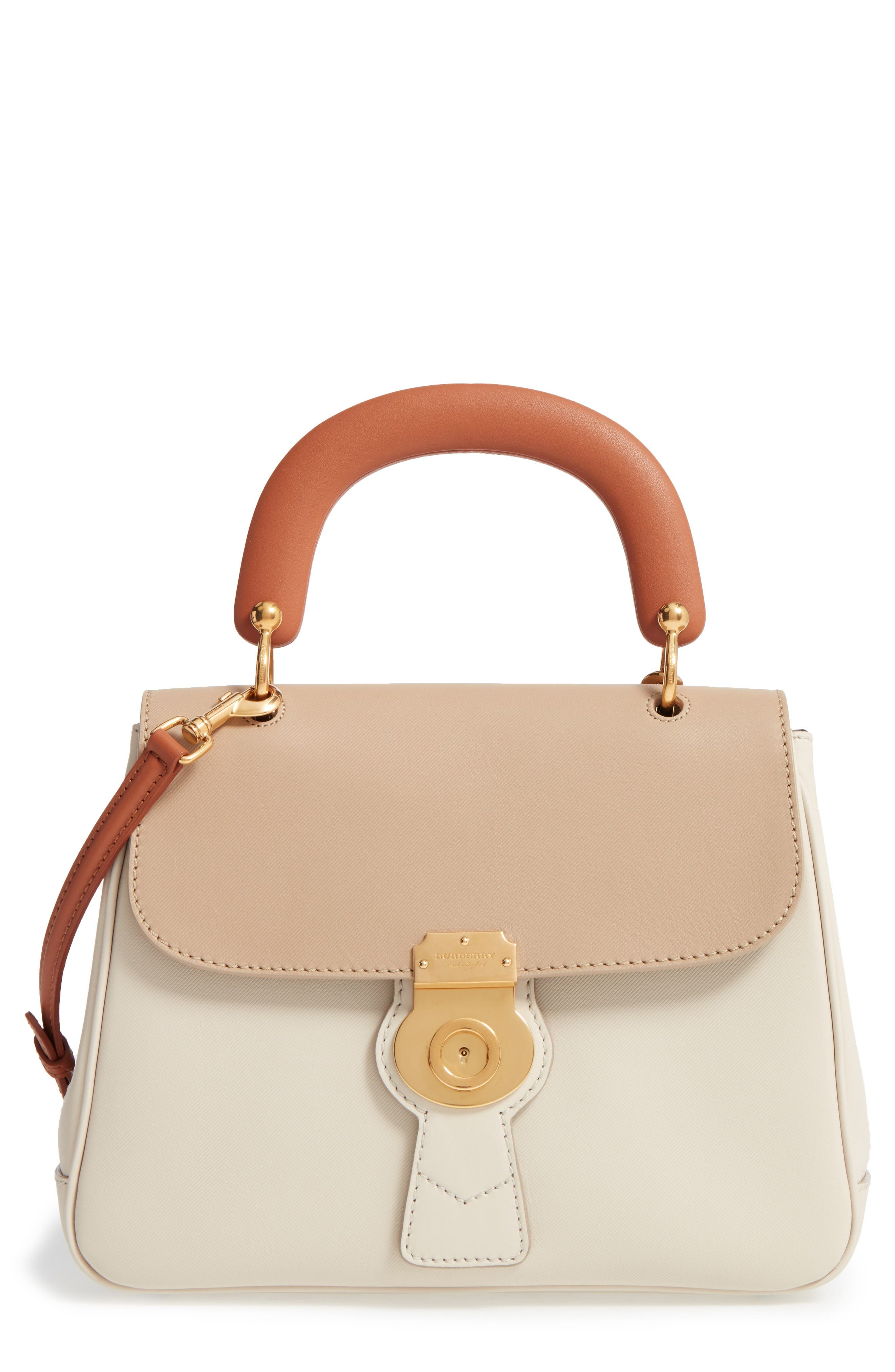 Alternate Image 1 Selected - Burberry Top Handle Tote