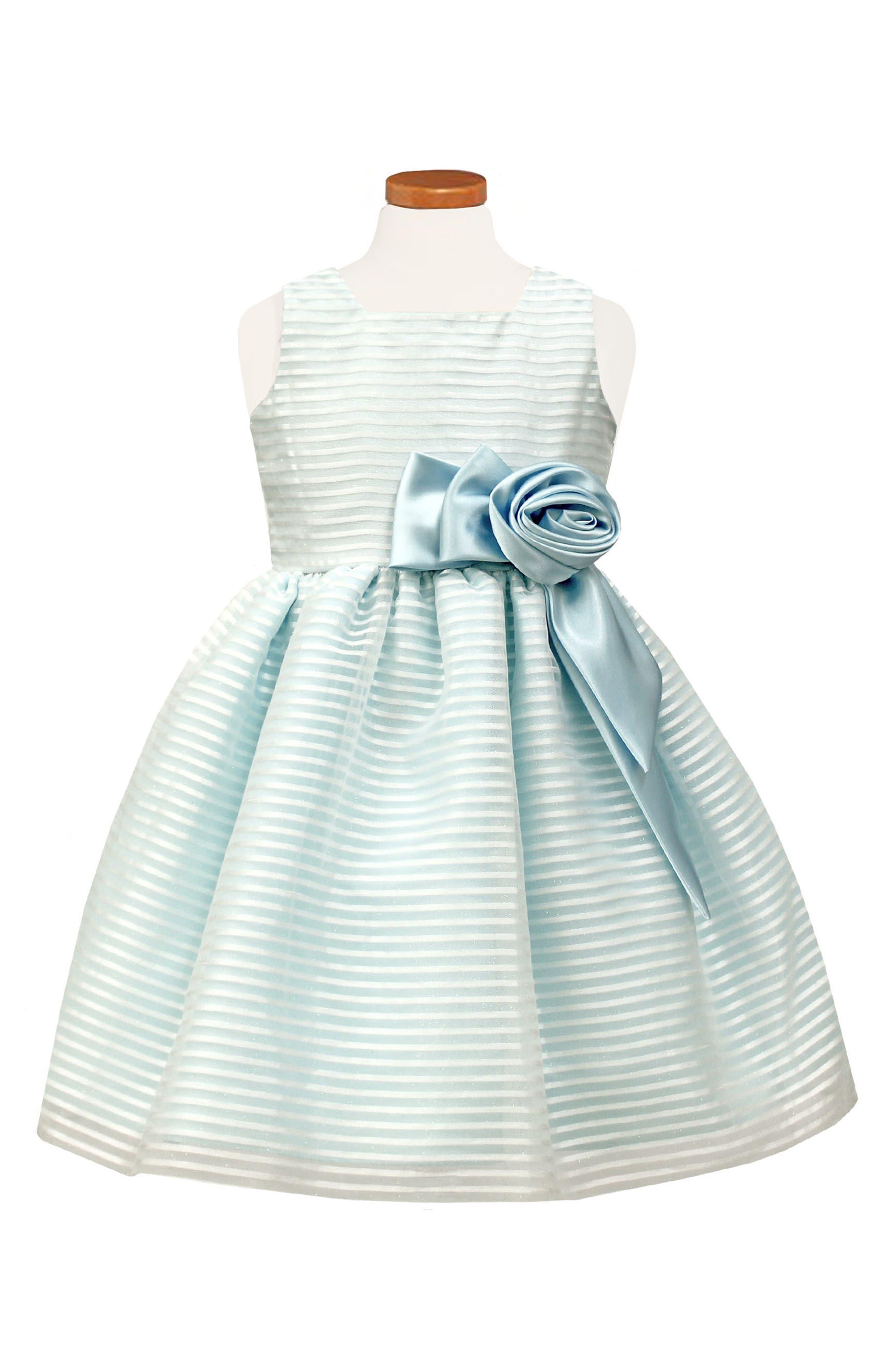 Sorbet Stripe Sleeveless Dress (Toddler Girls & Little Girls)