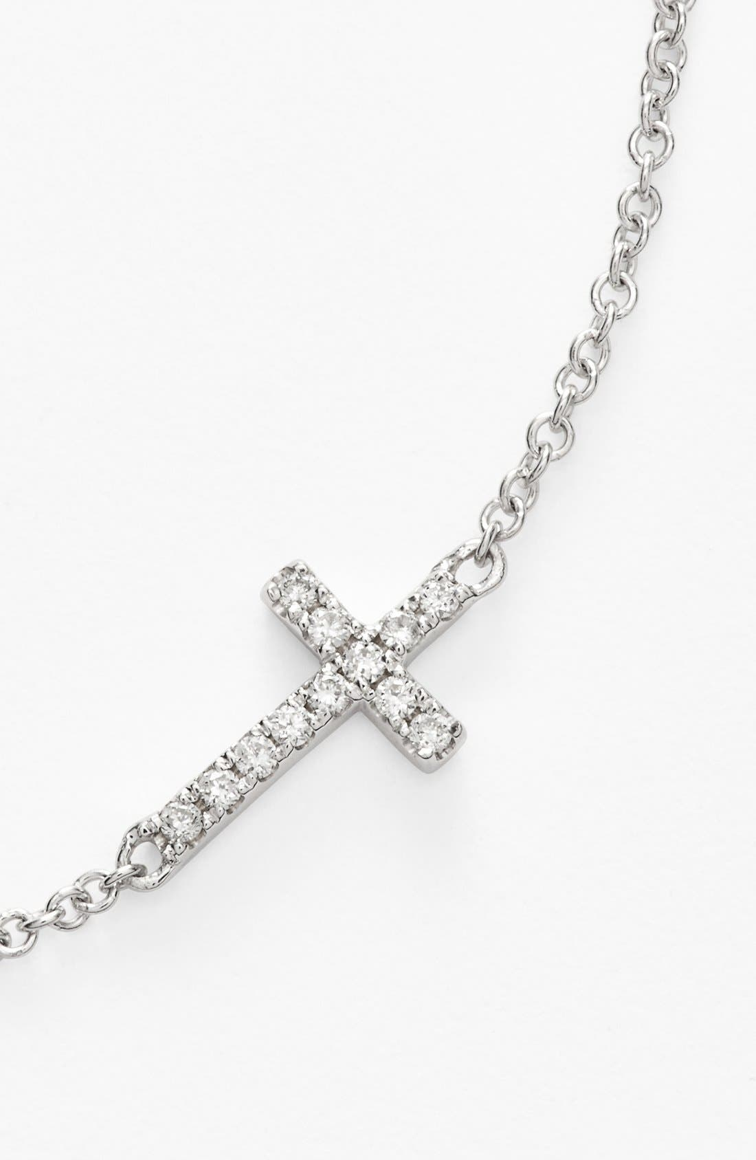 Alternate Image 5  - Bony Levy Reversible Diamond Cross Pendant Necklace (Nordstrom Exclusive)