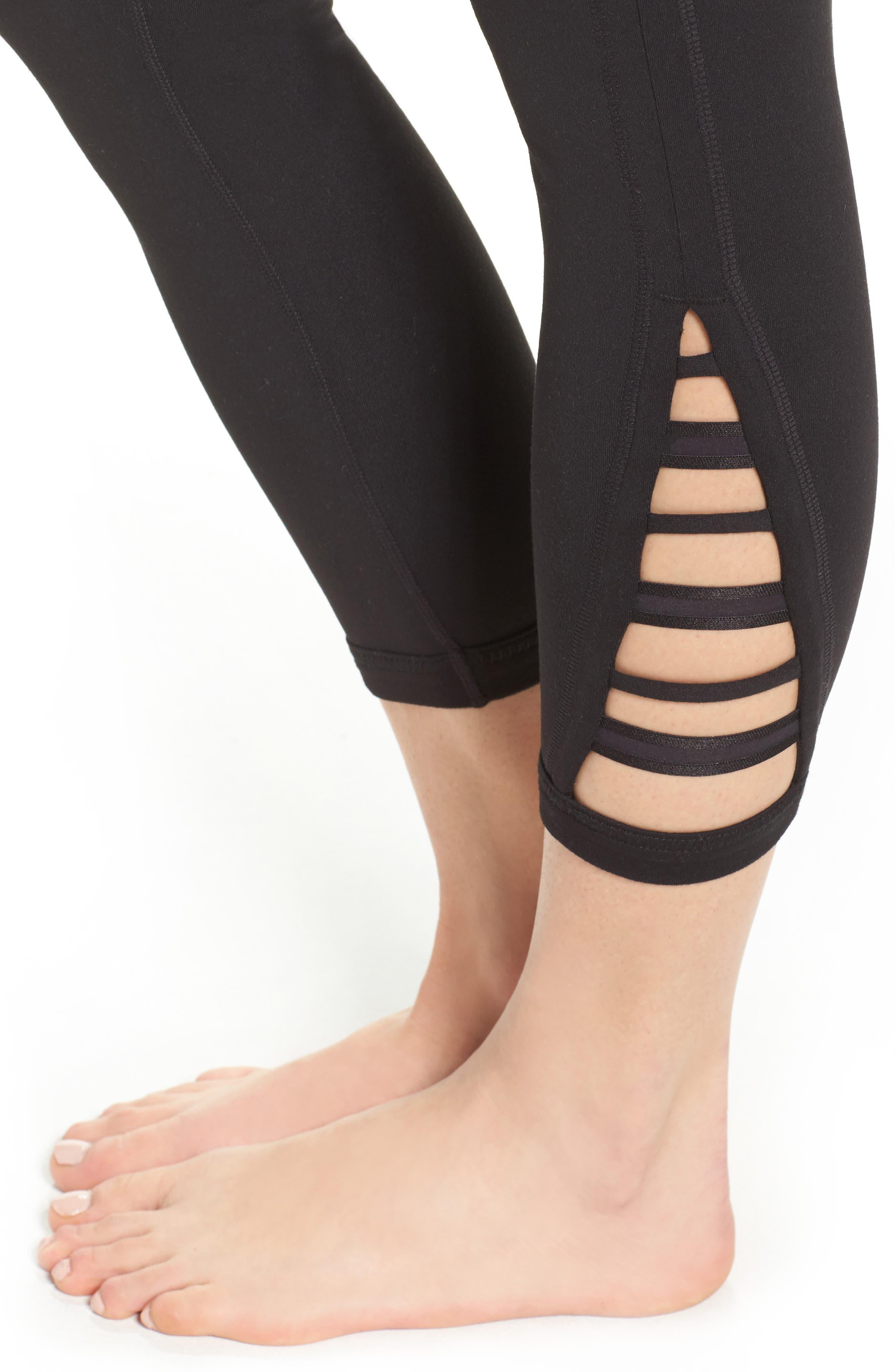 Alternate Image 4  - Zella Impulse High Waist Midi Leggings