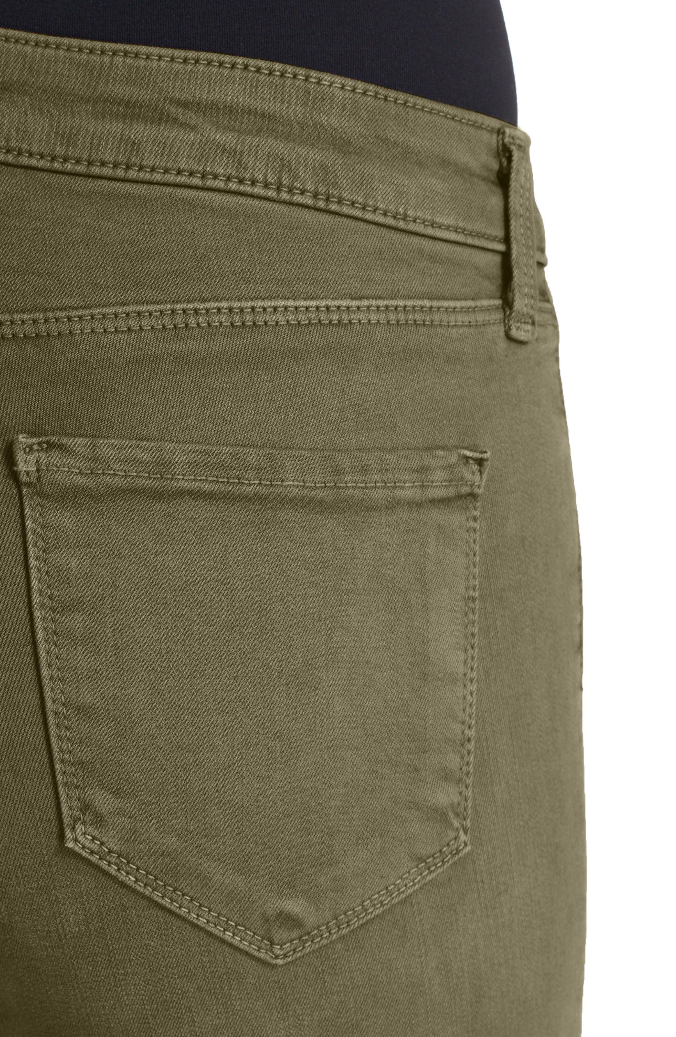 Alternate Image 4  - L'AGENCE High Waist Skinny Ankle Jeans