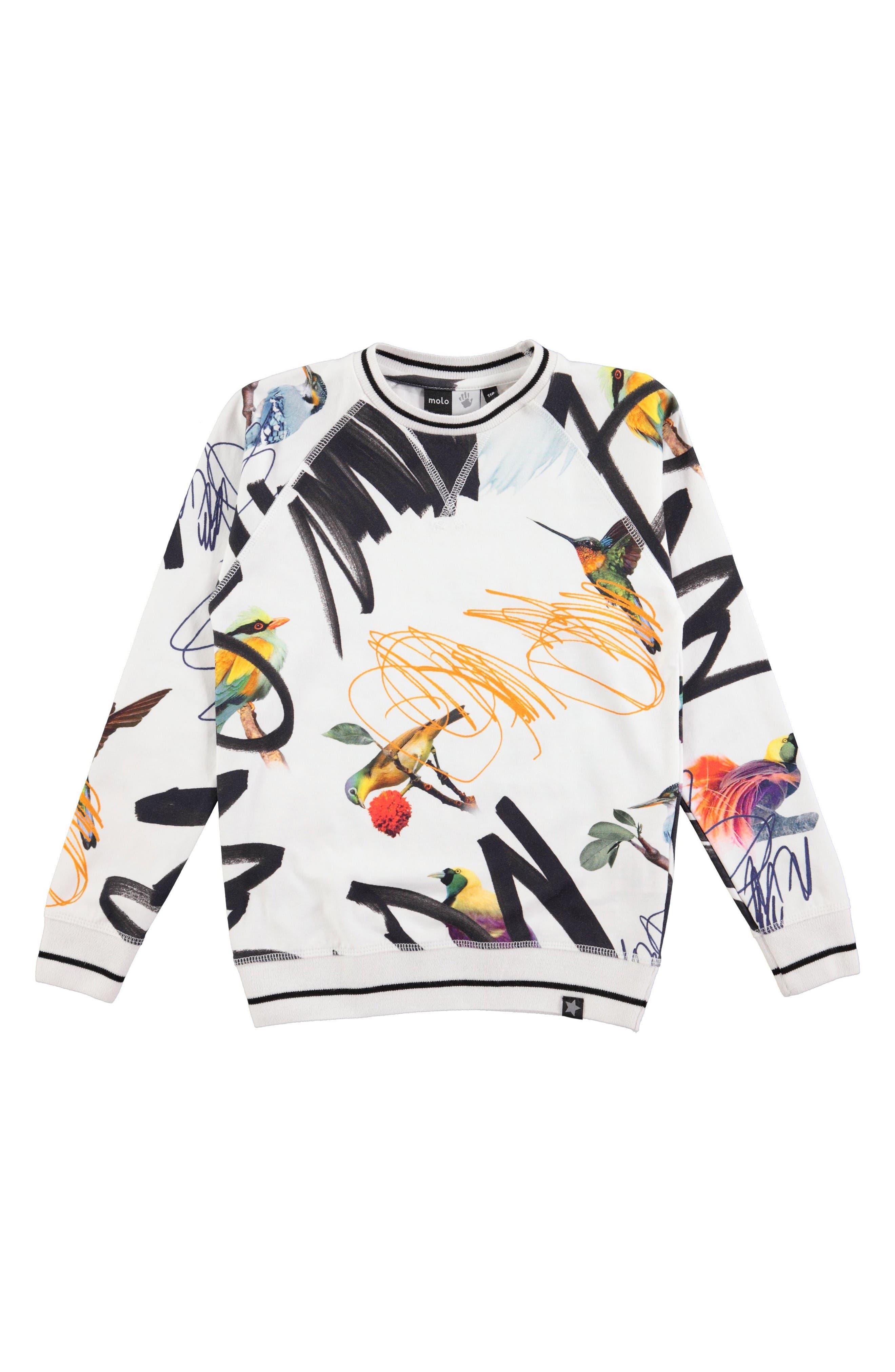Molo Raewyn Sweatshirt (Toddler Girls, Little Girls & Big Girls)
