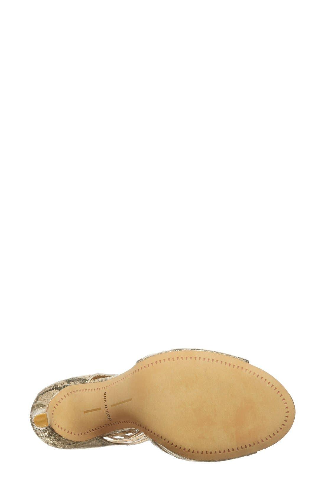 Alternate Image 4  - Dolce Vita 'Henlie' Open Toe Sandal (Women)