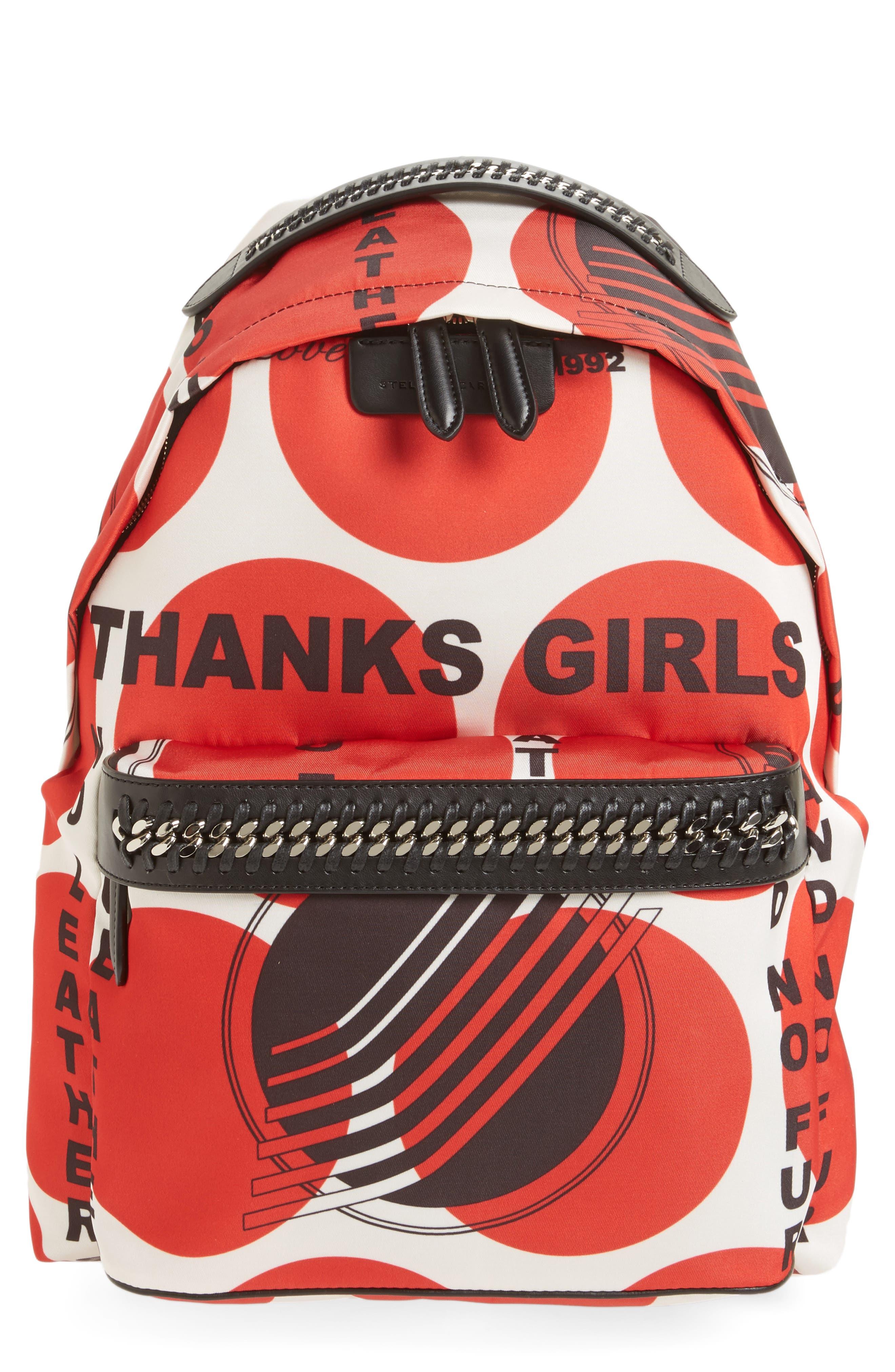 Alternate Image 1 Selected - Stella McCartney Thanks Girls Nylon Backpack