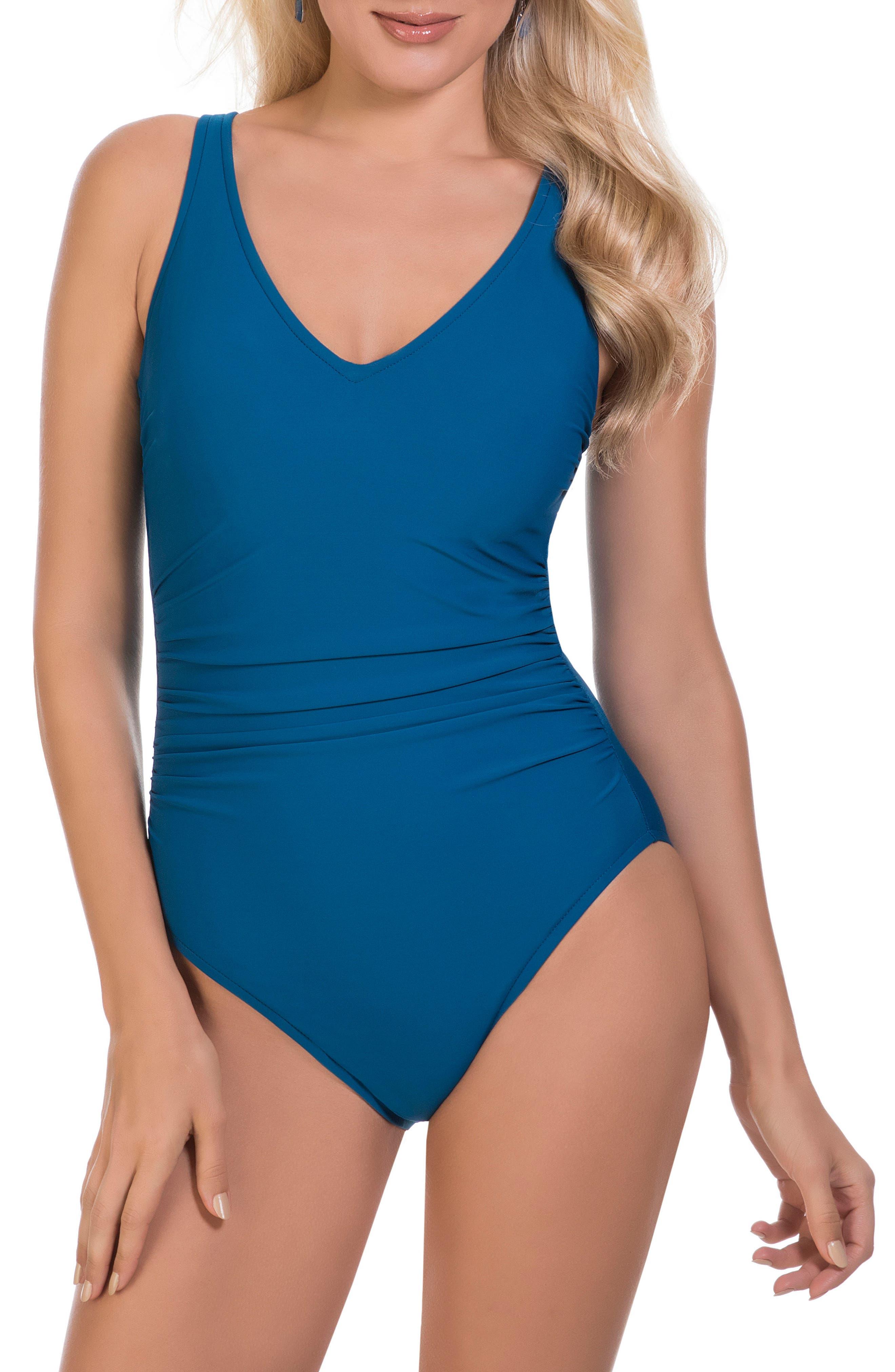 Magicsuit® Behind Bars Steffi One-Piece Swimsuit