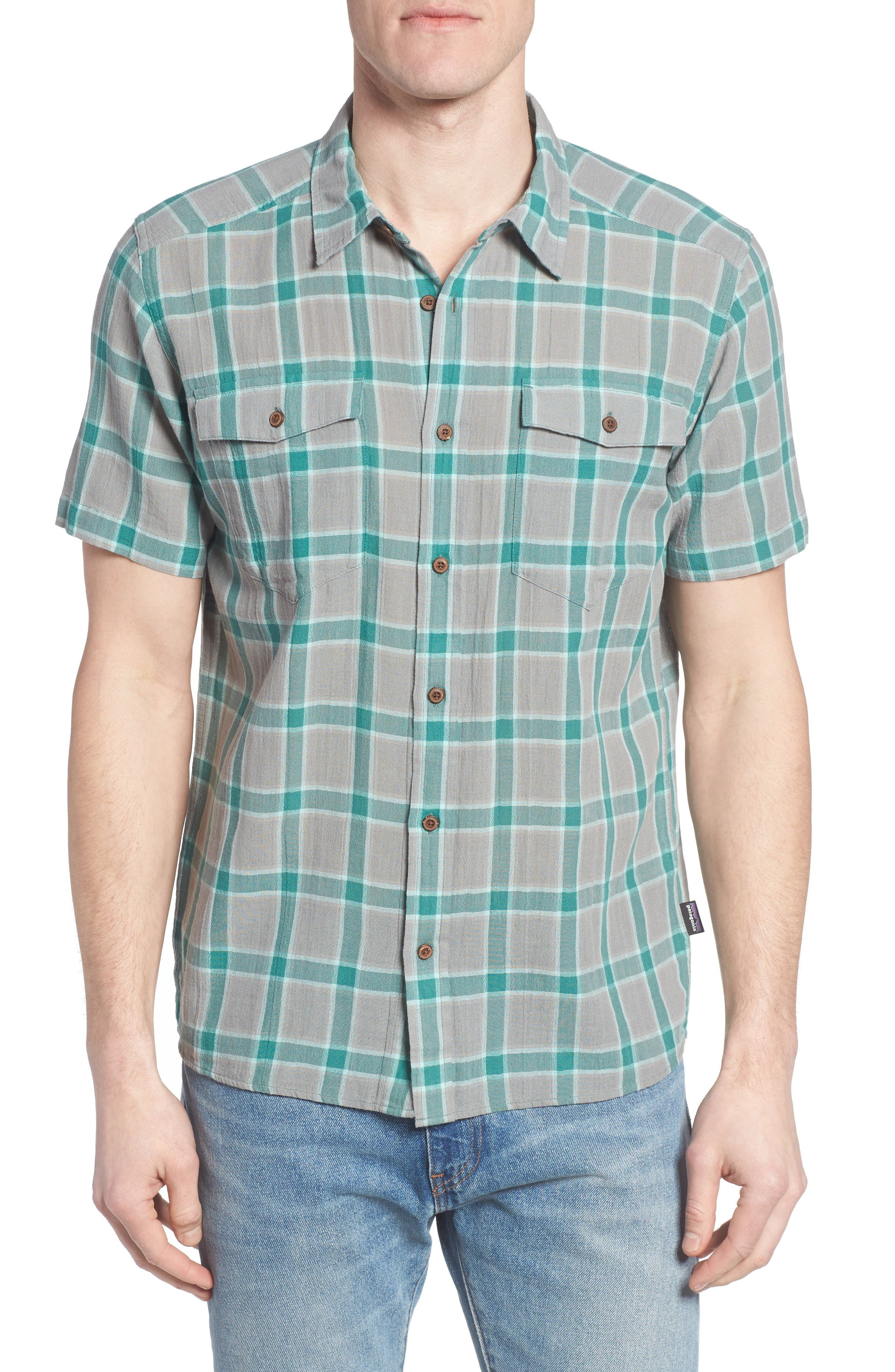 Patagonia Steersman Regular Fit Plaid Shirt