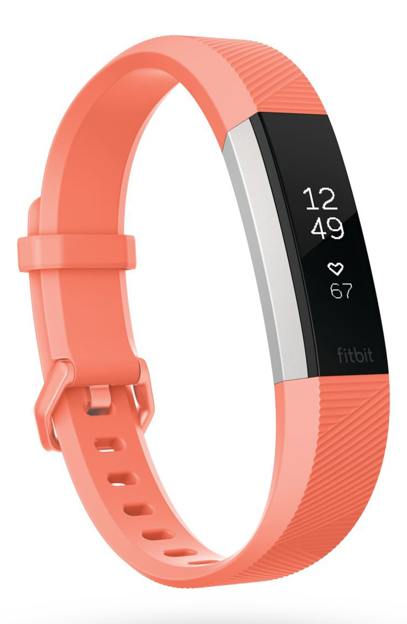 Alternate Image 1 Selected - Fitbit Alta HR Wireless Heart Rate and Fitness Tracker