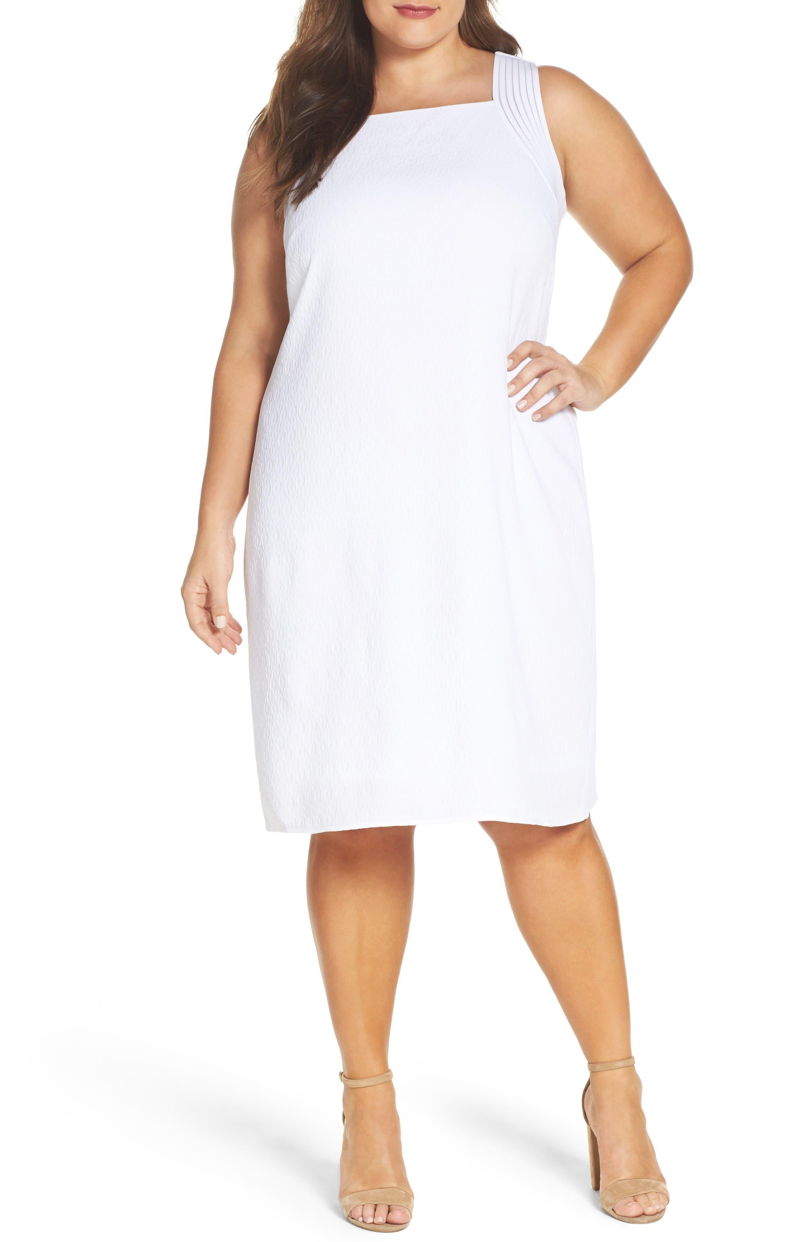 NIC+ZOE West Coast Shift Dress (Plus Size)