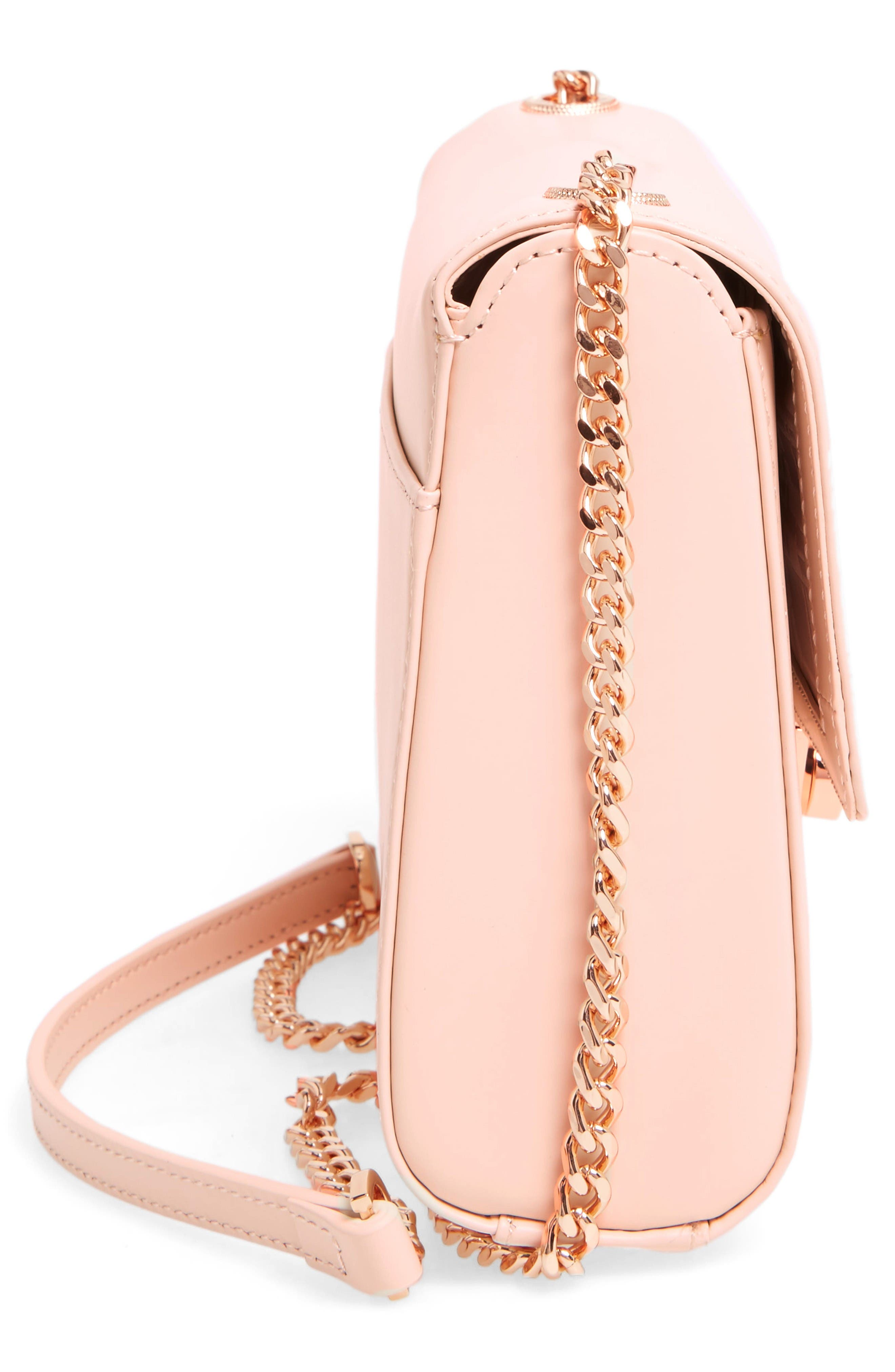 Alternate Image 4  - Ted Baker London Leather Crossbody Bag