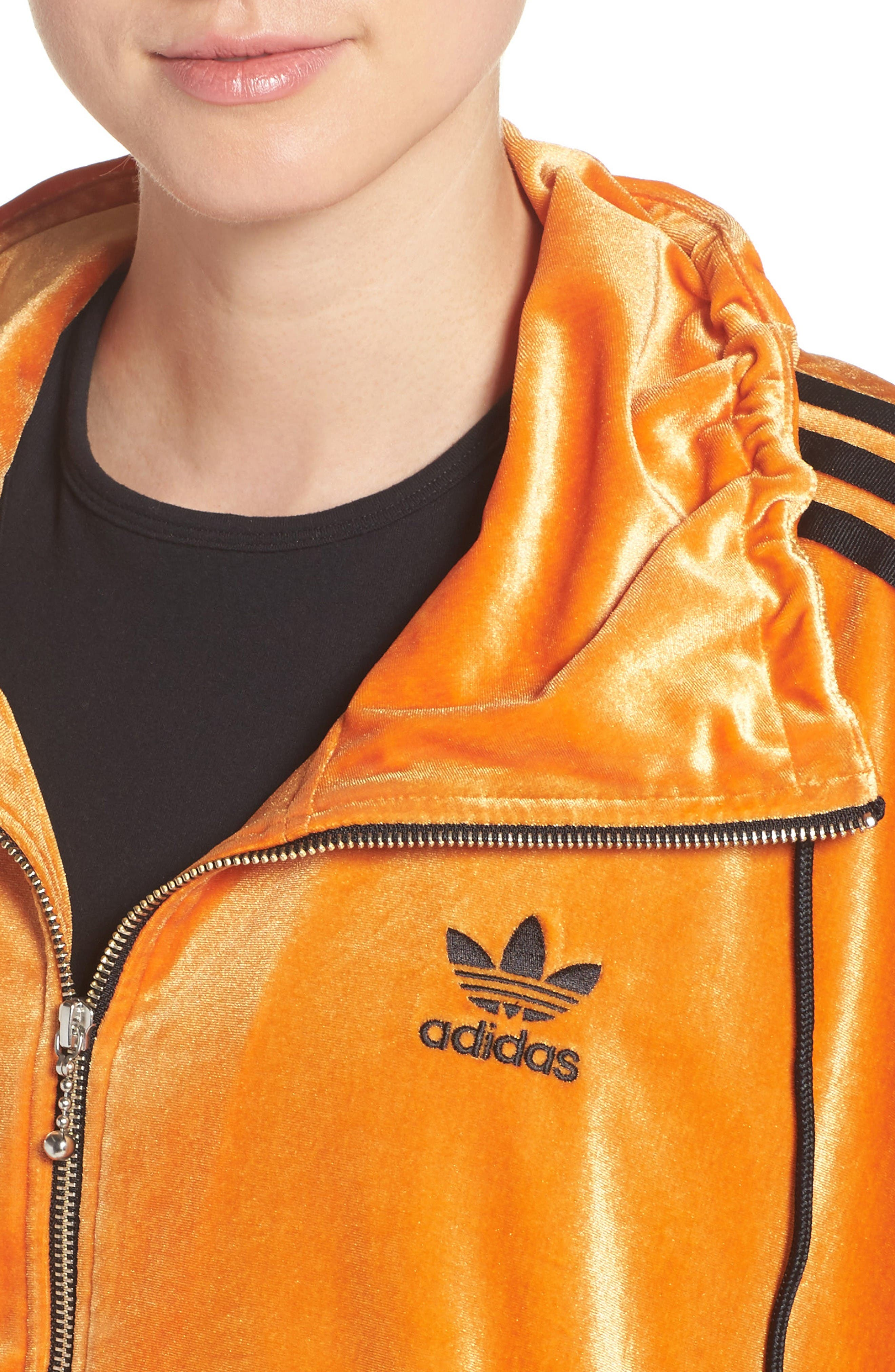 Alternate Image 4  - adidas Originals Oversize Track Jacket