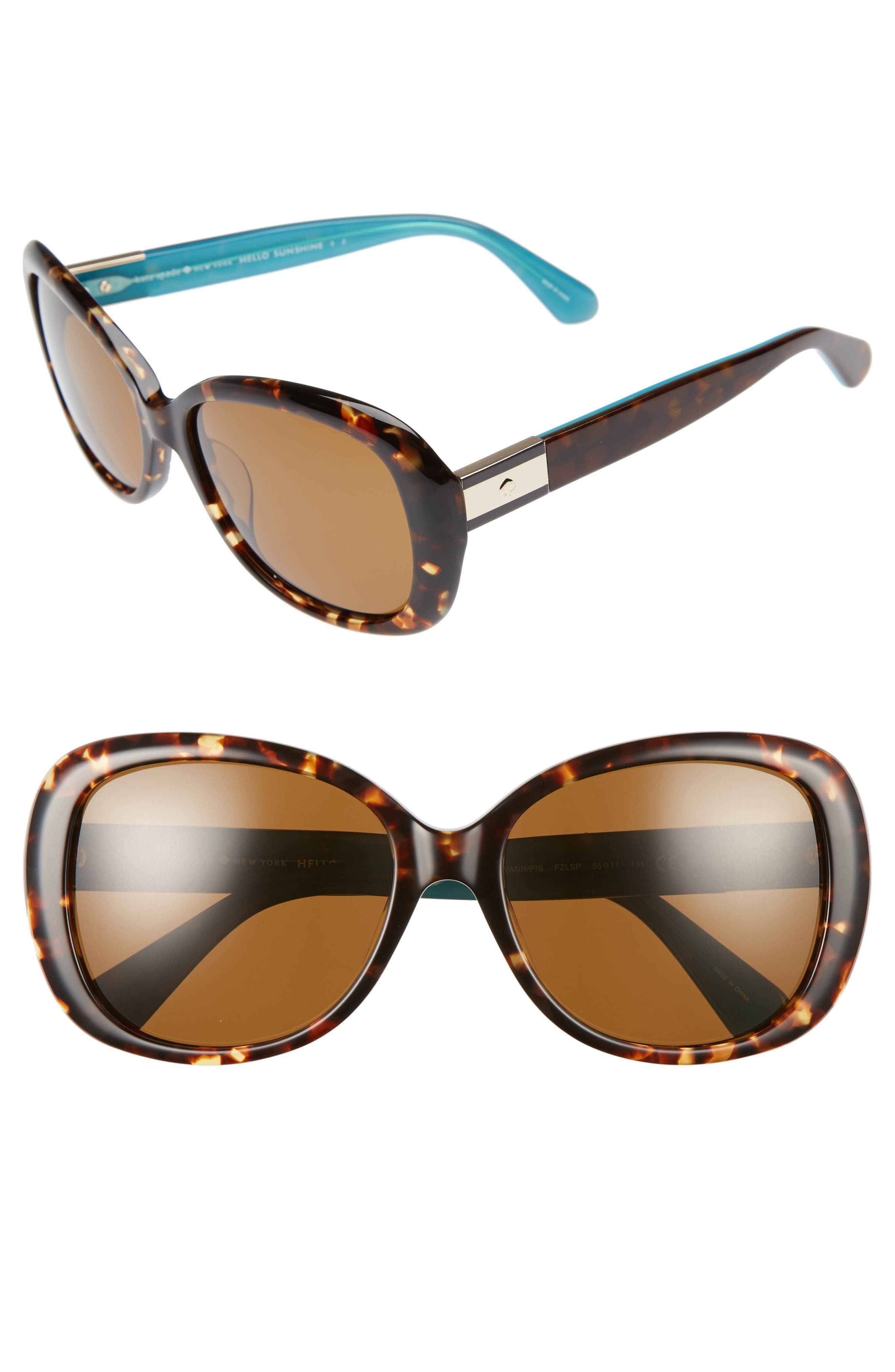 Alternate Image 1 Selected - kate spade new york judyann 50mm Sunglasses