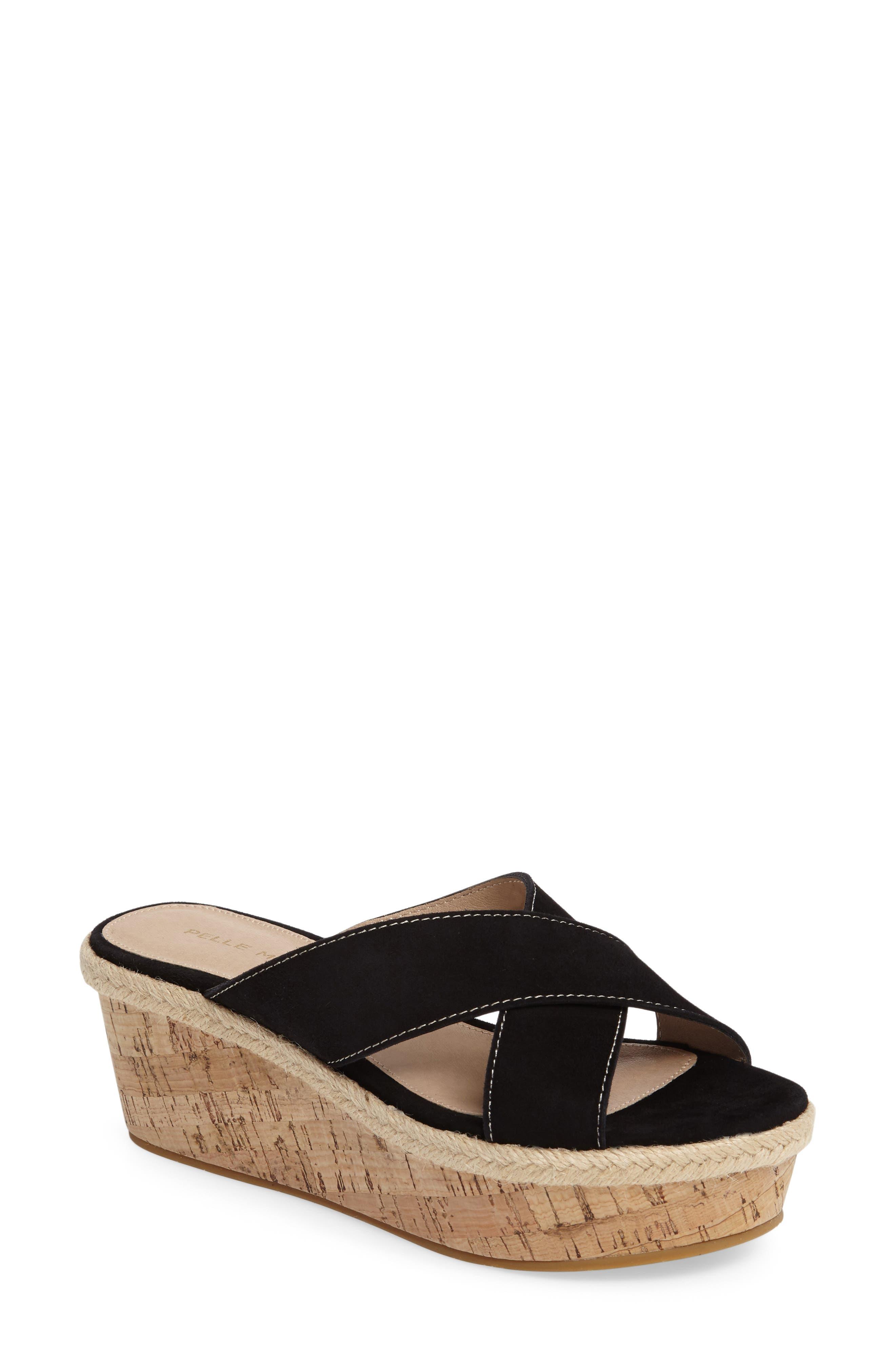 Pelle Moda Harriet Platform Wedge Sandal (Women)