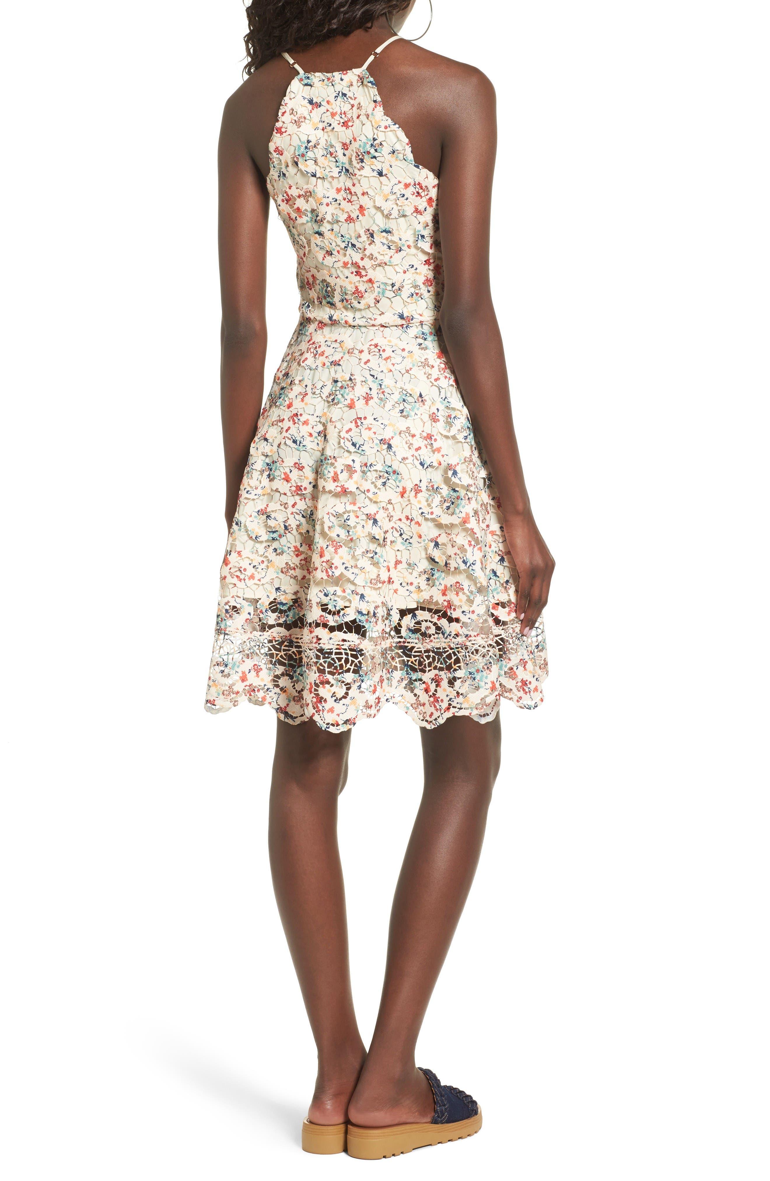 Alternate Image 3  - Tularosa Cyrus Lace Skater Dress