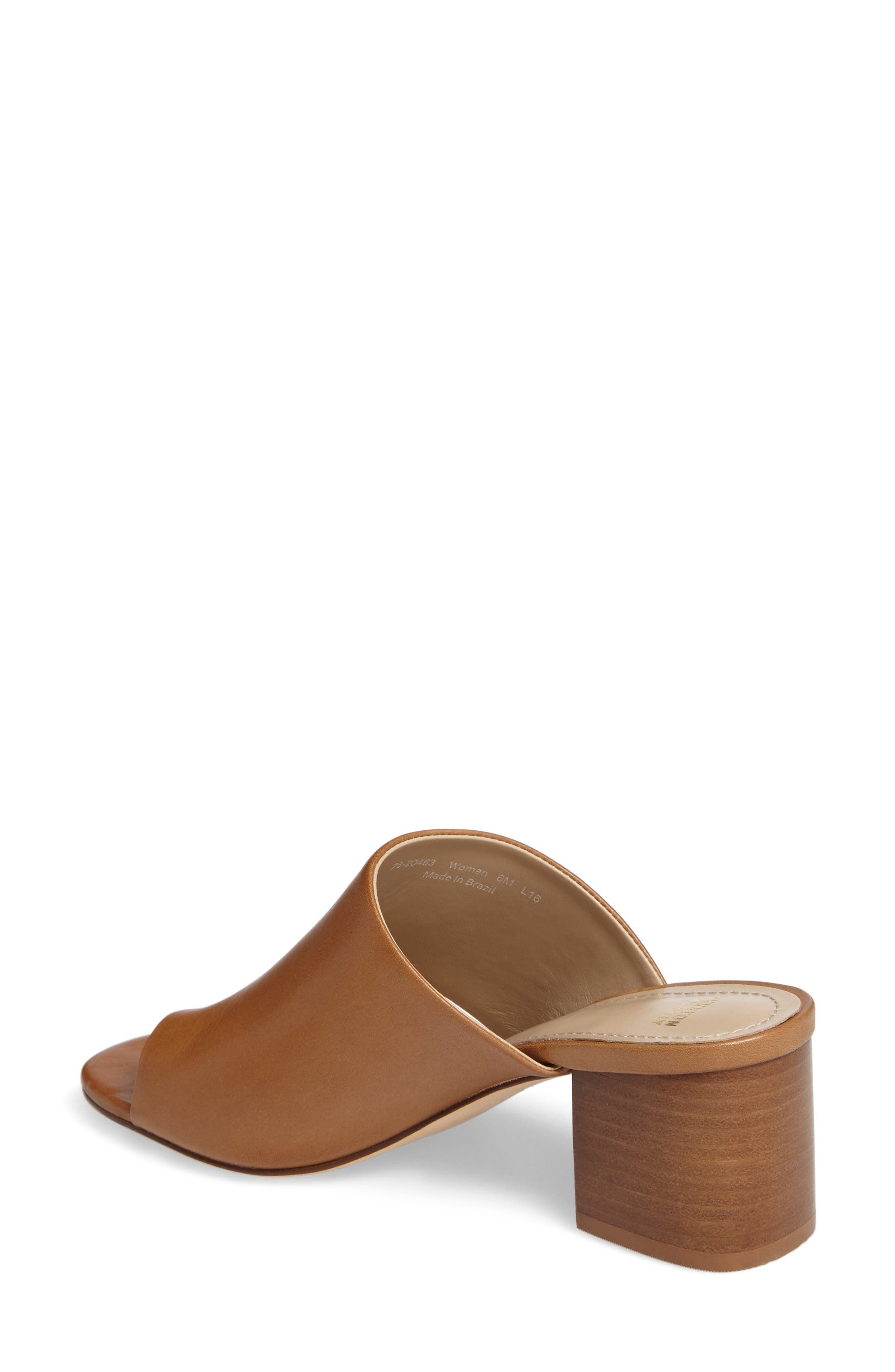 Alternate Image 2  - Johnston & Murphy Kelsey Toe Loop Slide Sandal (Women)