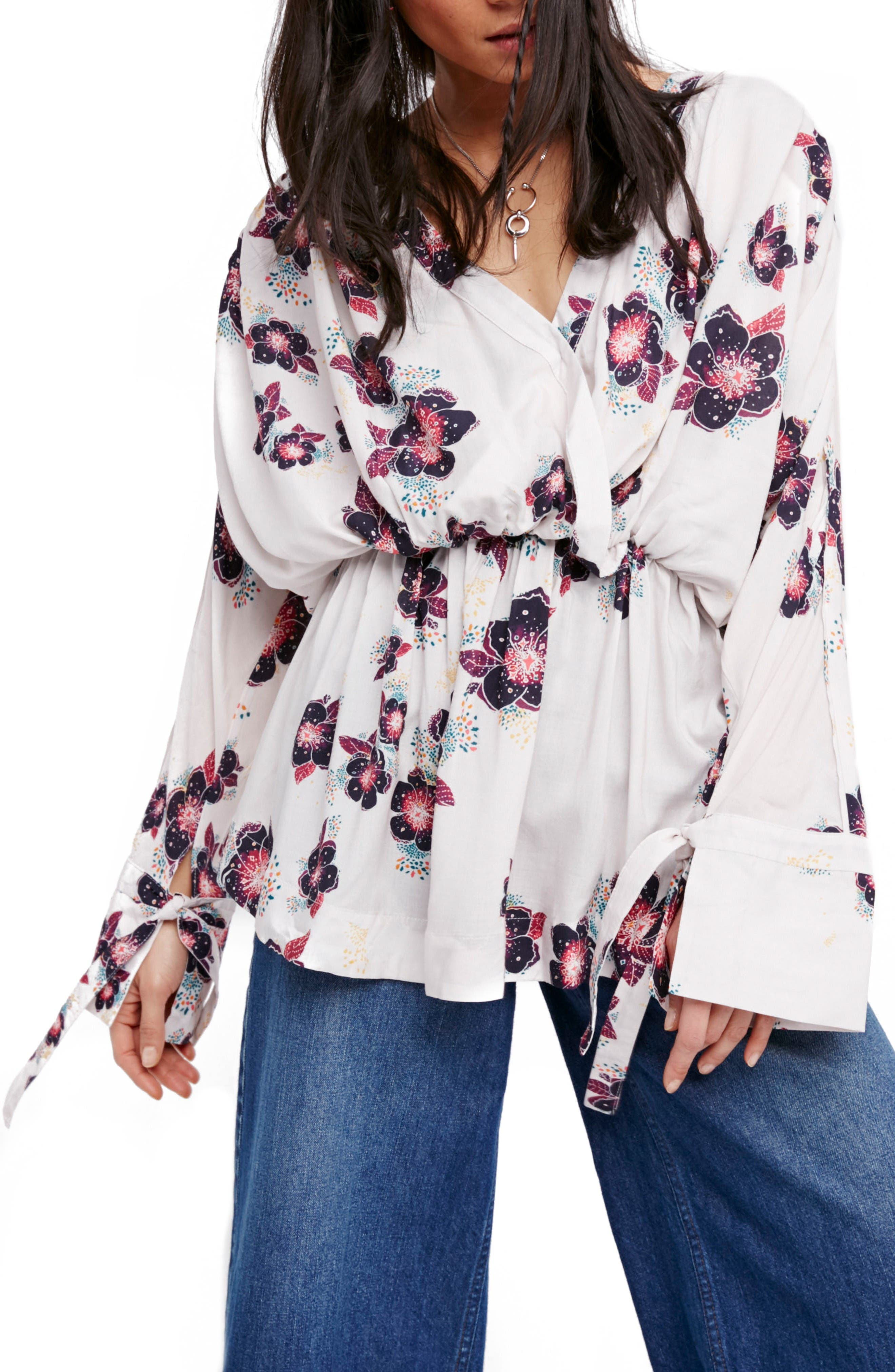 Alternate Image 1 Selected - Free People Tuscan Dreams Tunic Dress
