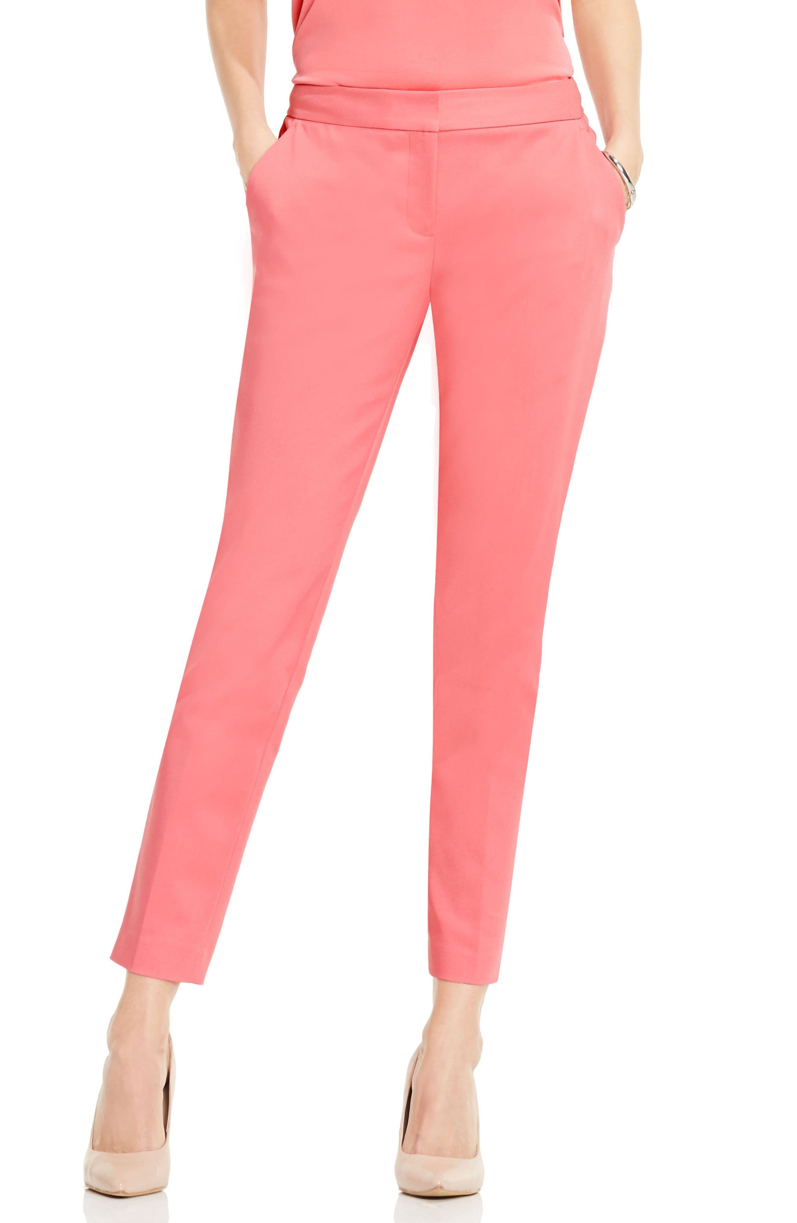 Alternate Image 1 Selected - Vince Camuto Slim Ankle Pants