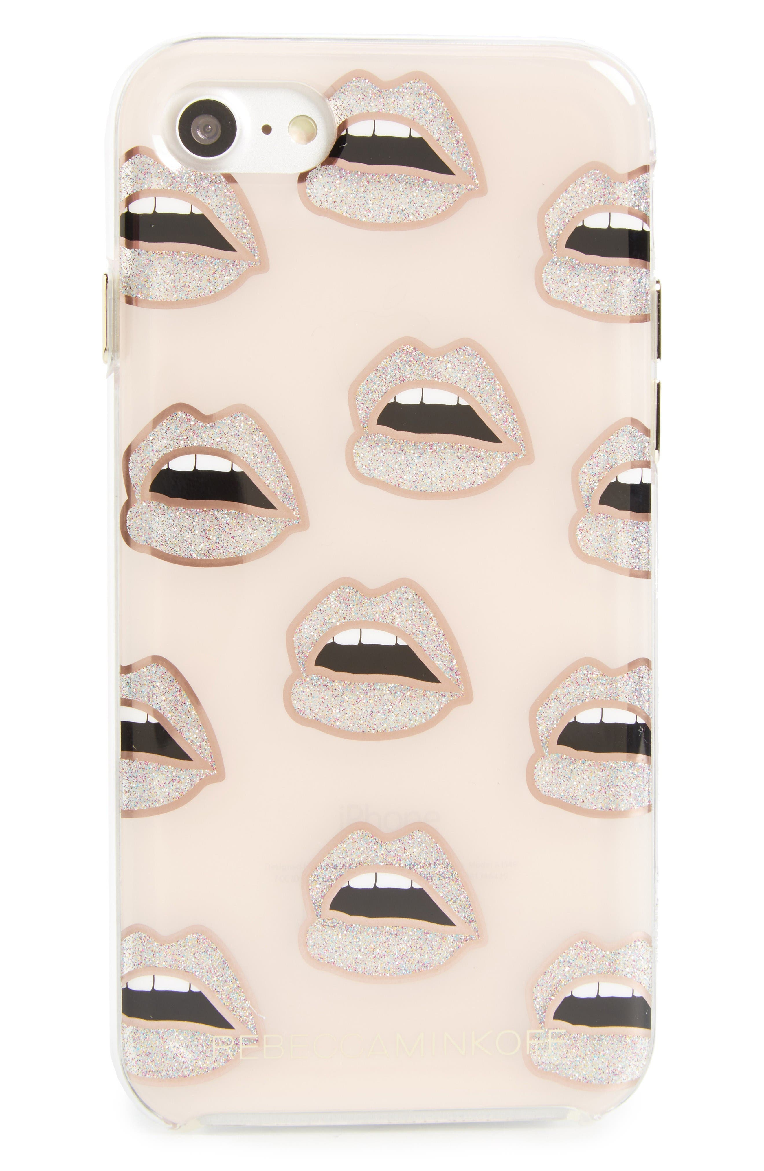 Alternate Image 1 Selected - Rebecca Minkoff Double Up iPhone 7 & 7 Plus Case