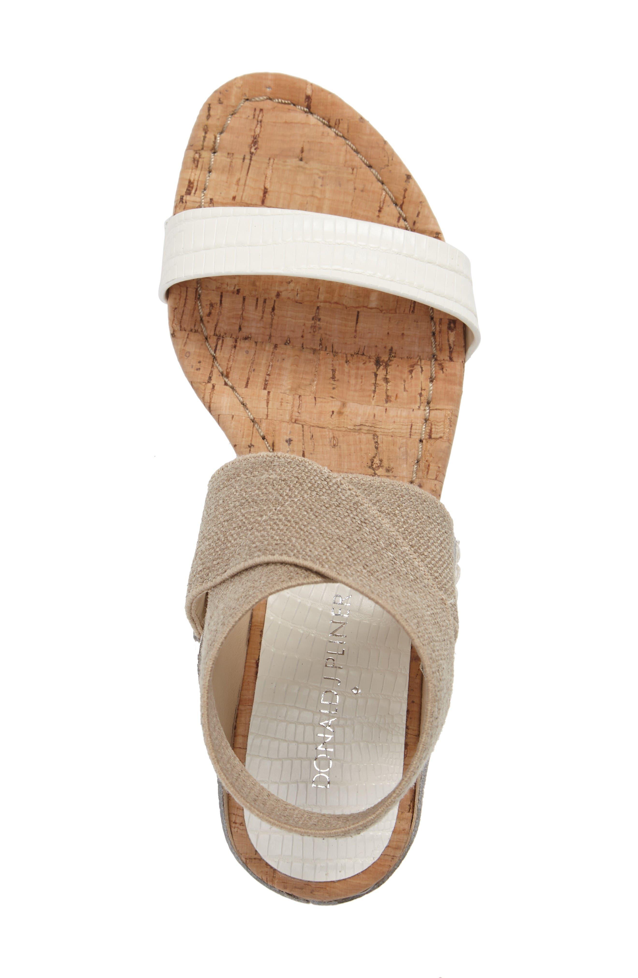 Alternate Image 5  - Donald J Pliner Eeva Wedge Sandal (Women)