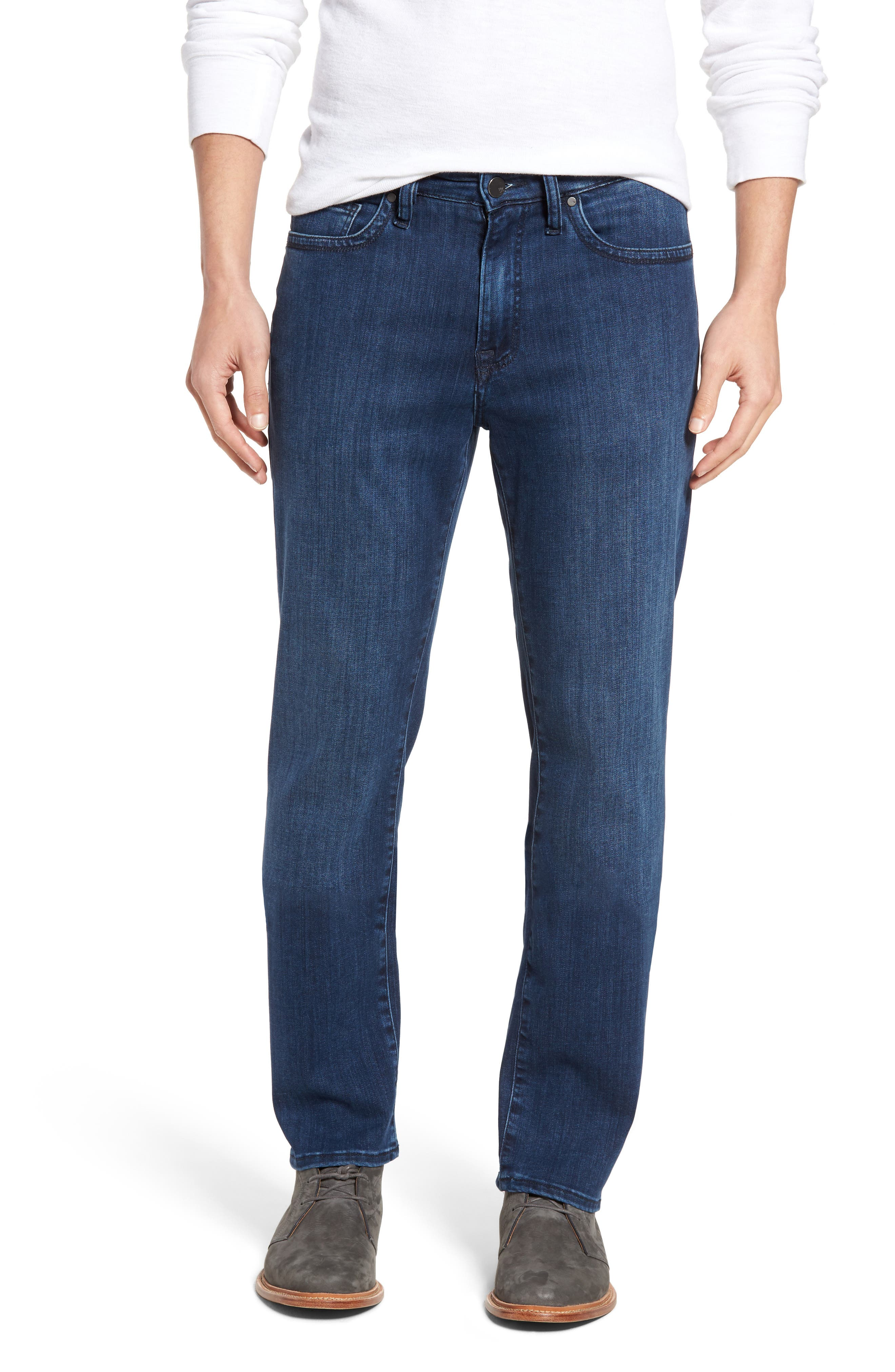34 Heritage Charisma Relaxed Fit Jeans (Indigo Rome) (Regular & Tall)