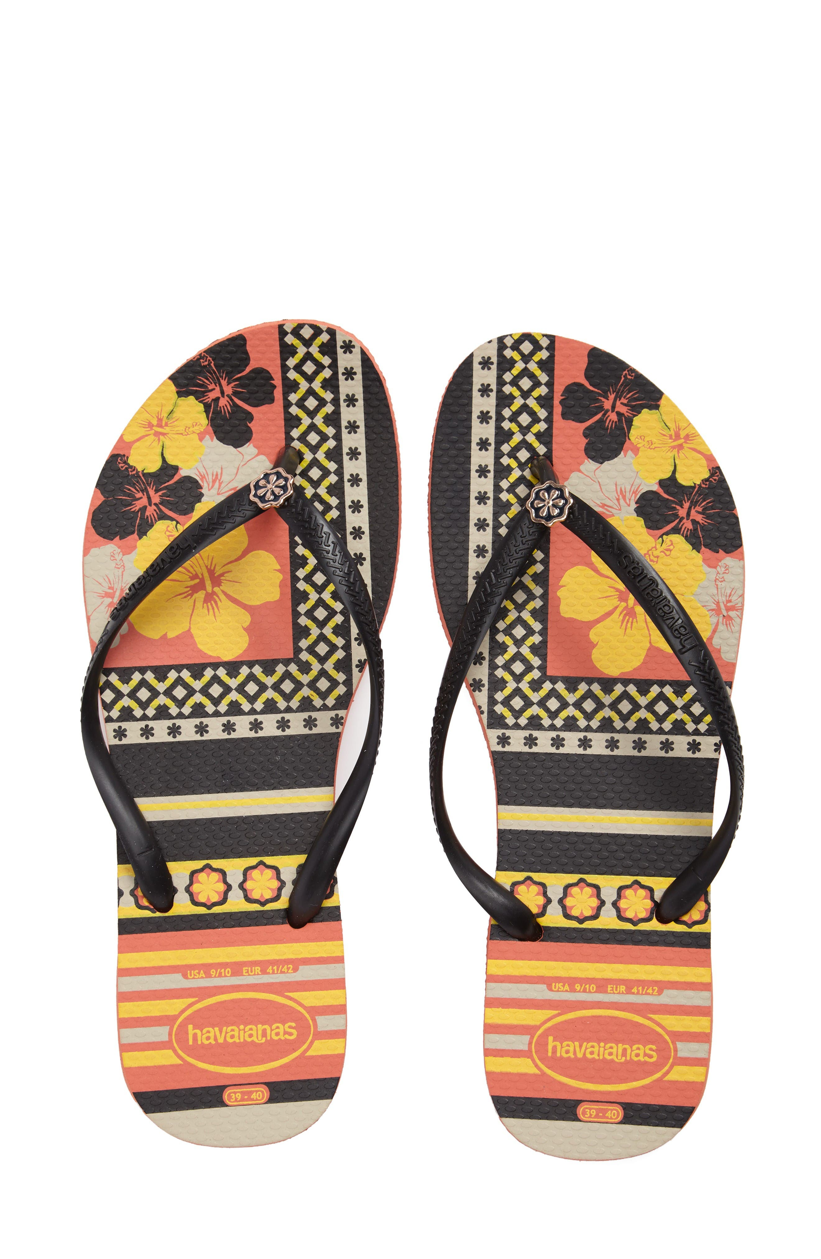 Alternate Image 1 Selected - Havaianas 'Slim Thematic' Flip Flop (Women)